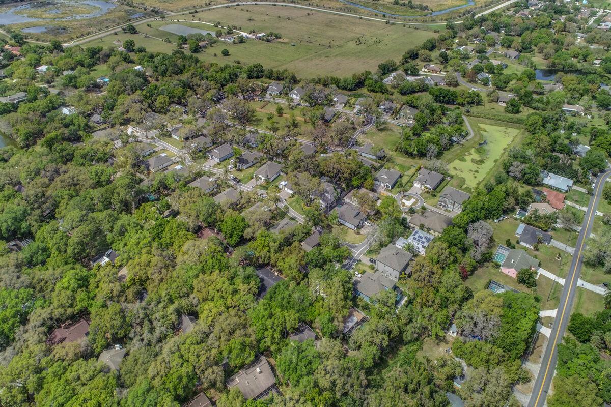 The Woods at Sylvan Lea Aerial