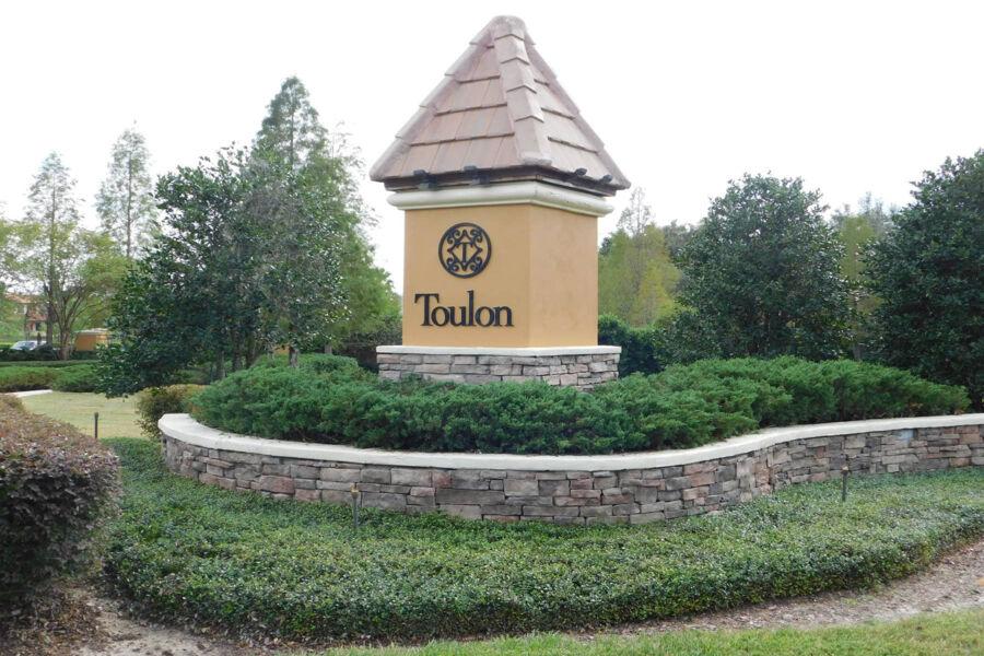 Toulon Entrance