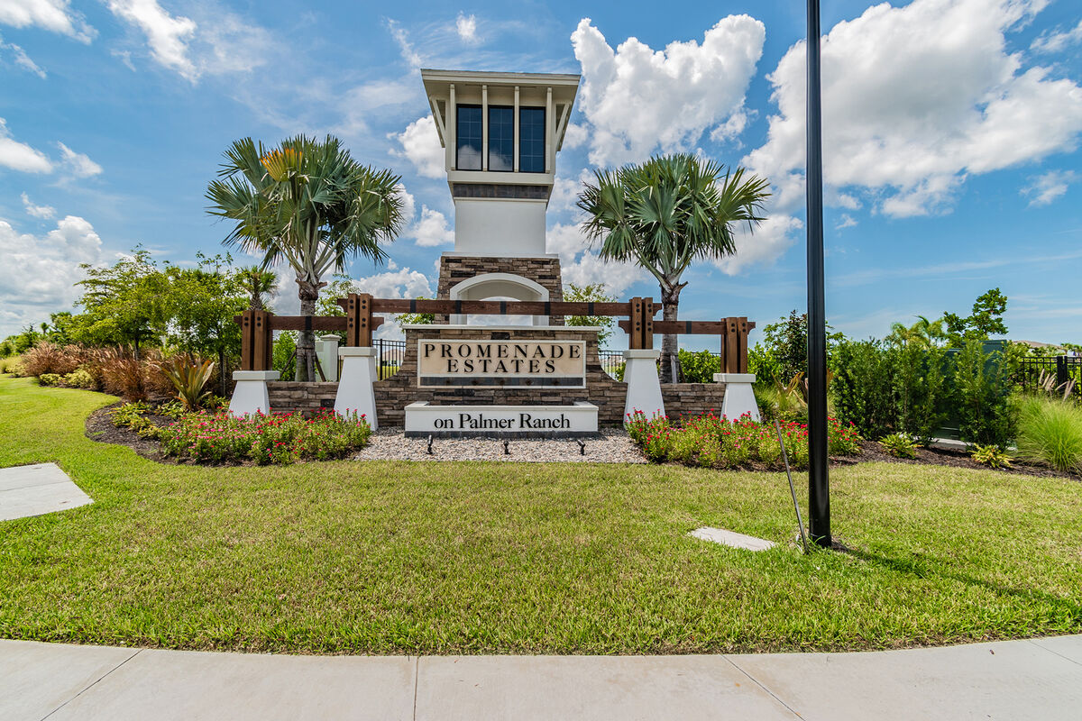 Promenade Estates Entrance