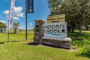 Hidden Creek Entrance