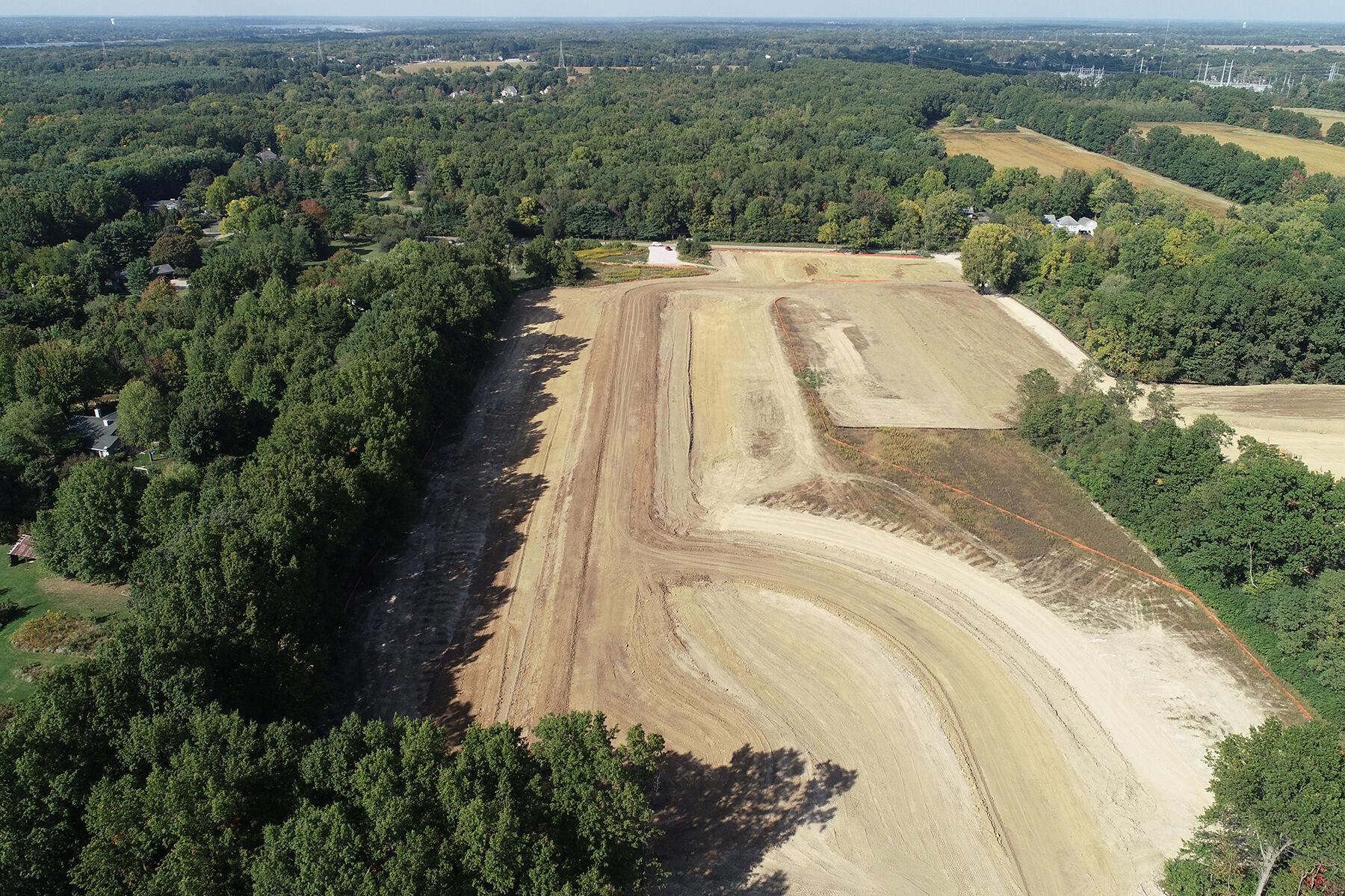 Walnut Woods Aerial