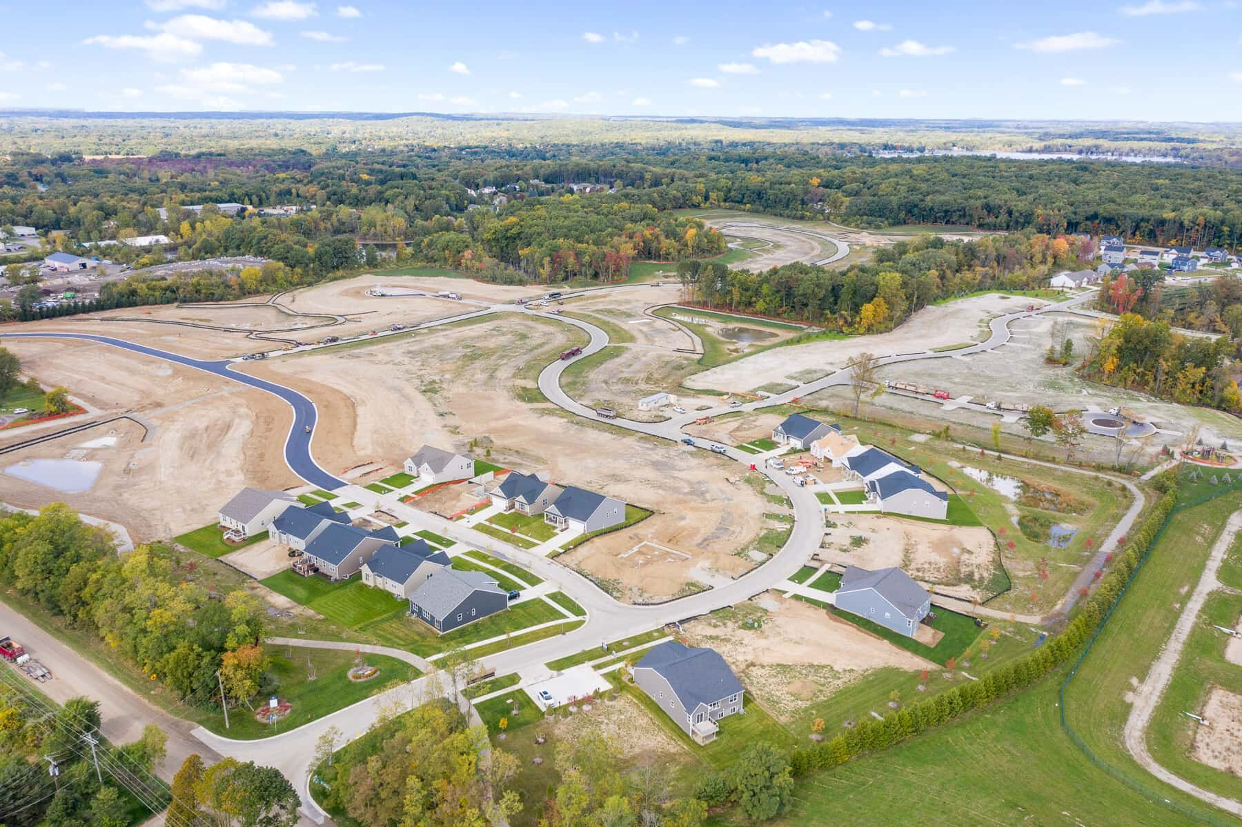 Green Oak Crossing Aerial