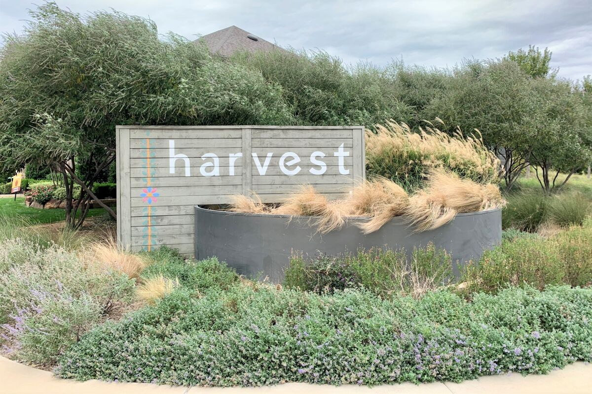 Harvest Community Entrance