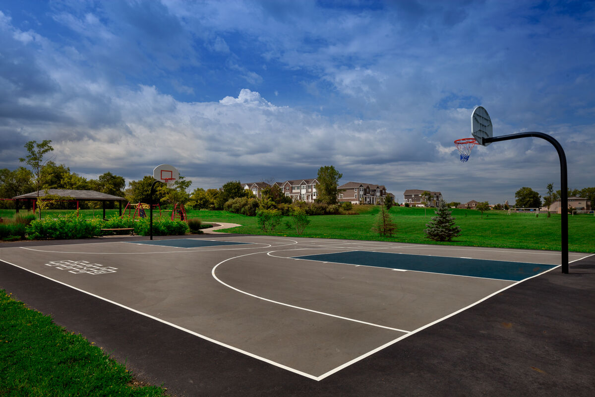 The Square Goodings Grove Basketball Court