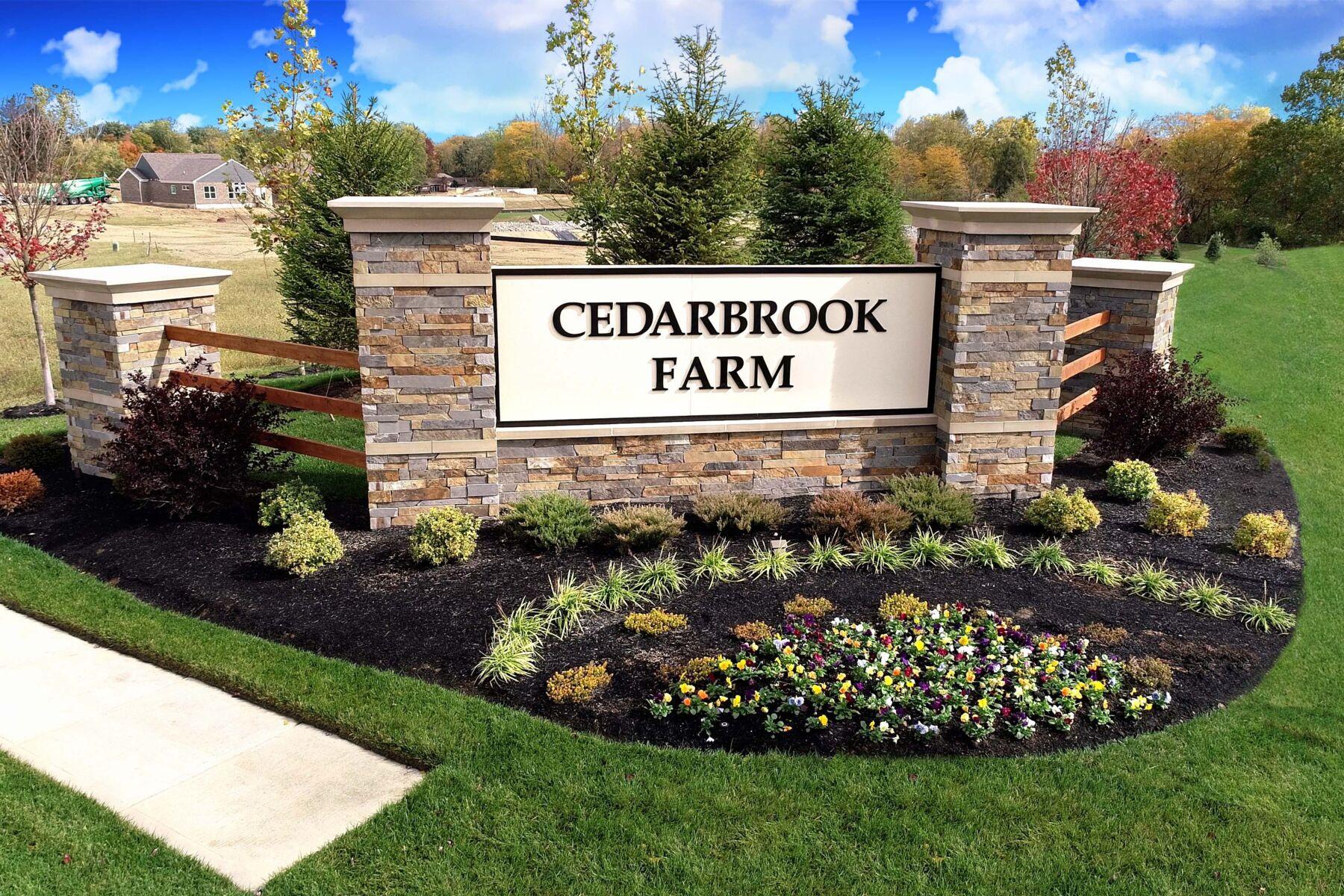 Cedarbrook Farm Entrance