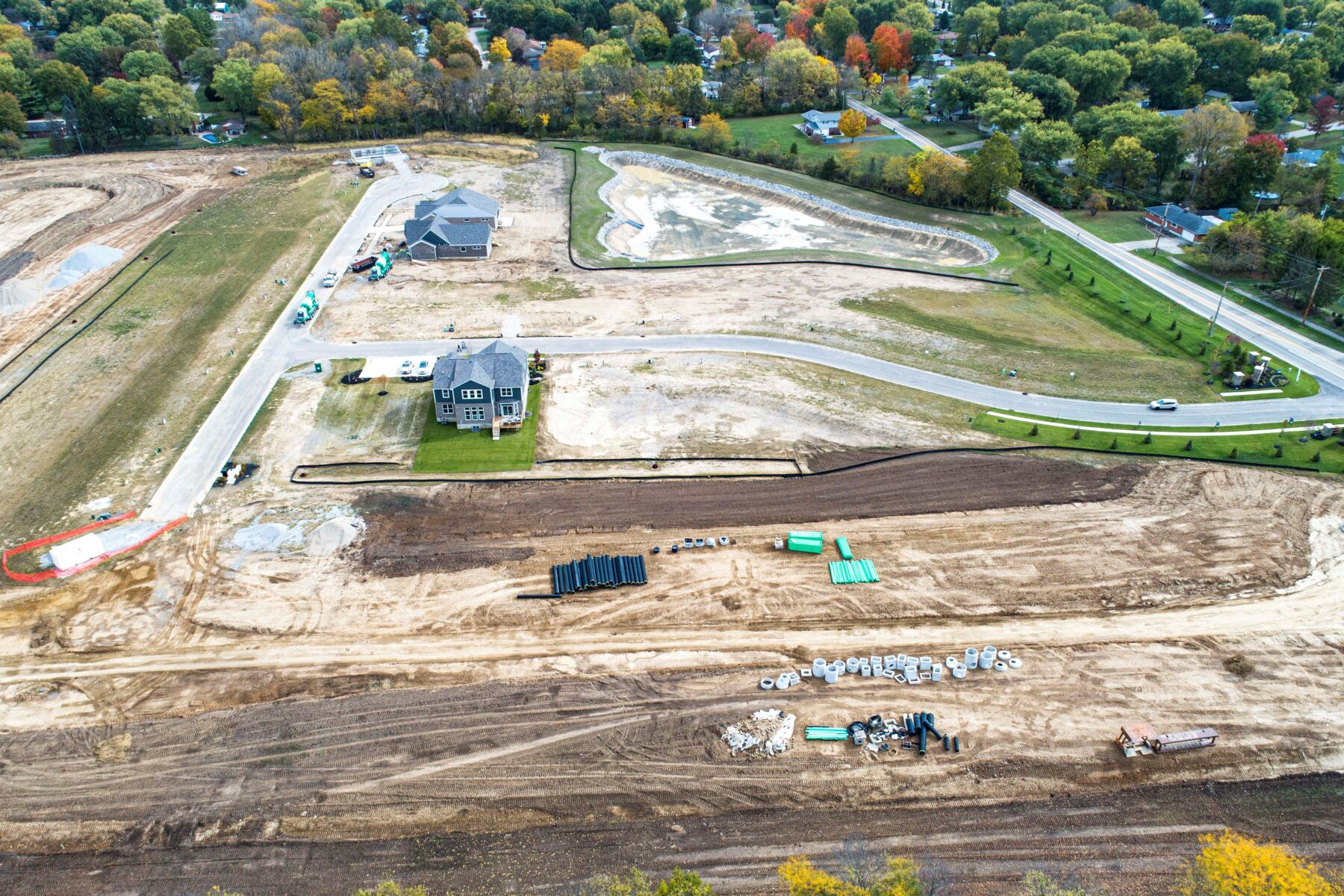Cedarbrook Farm Aerial