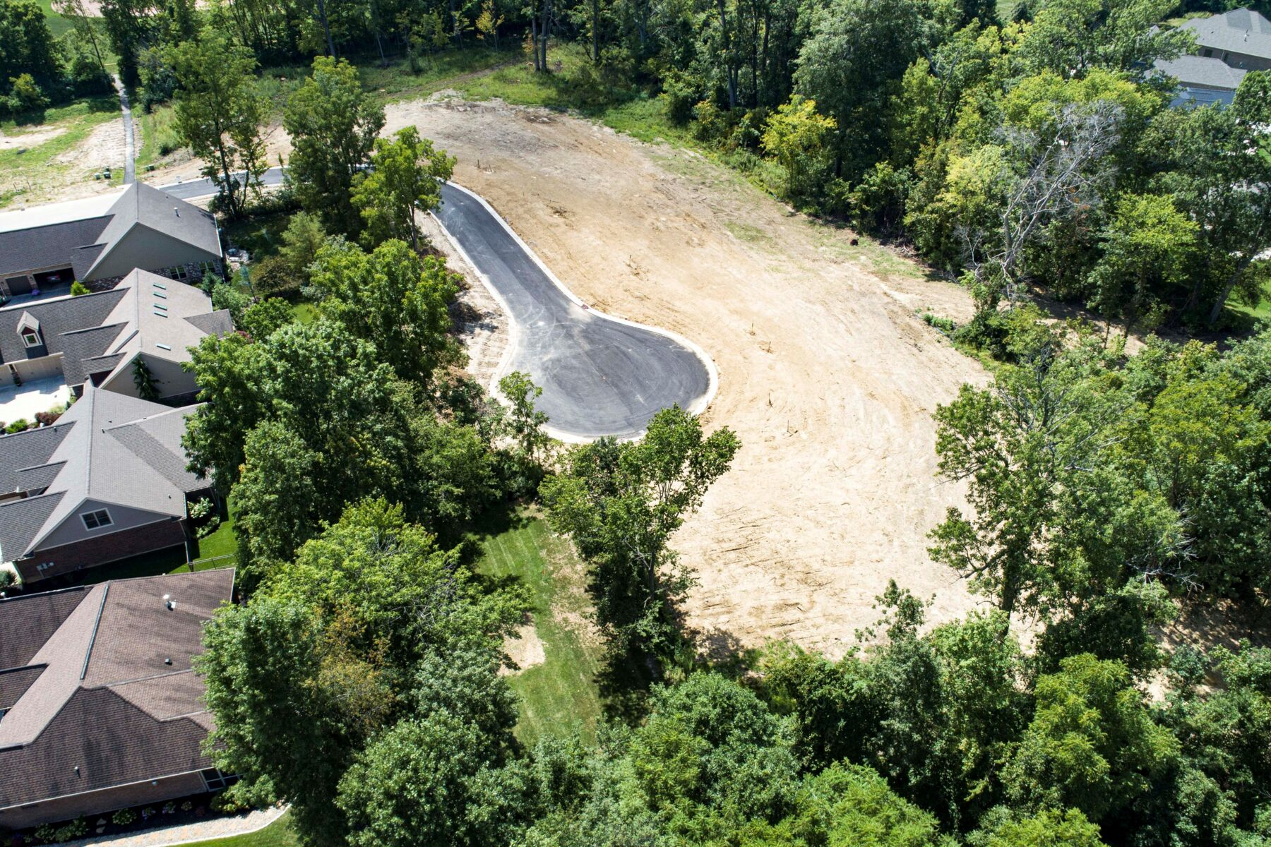 The Trails of Saddle Creek Aerial