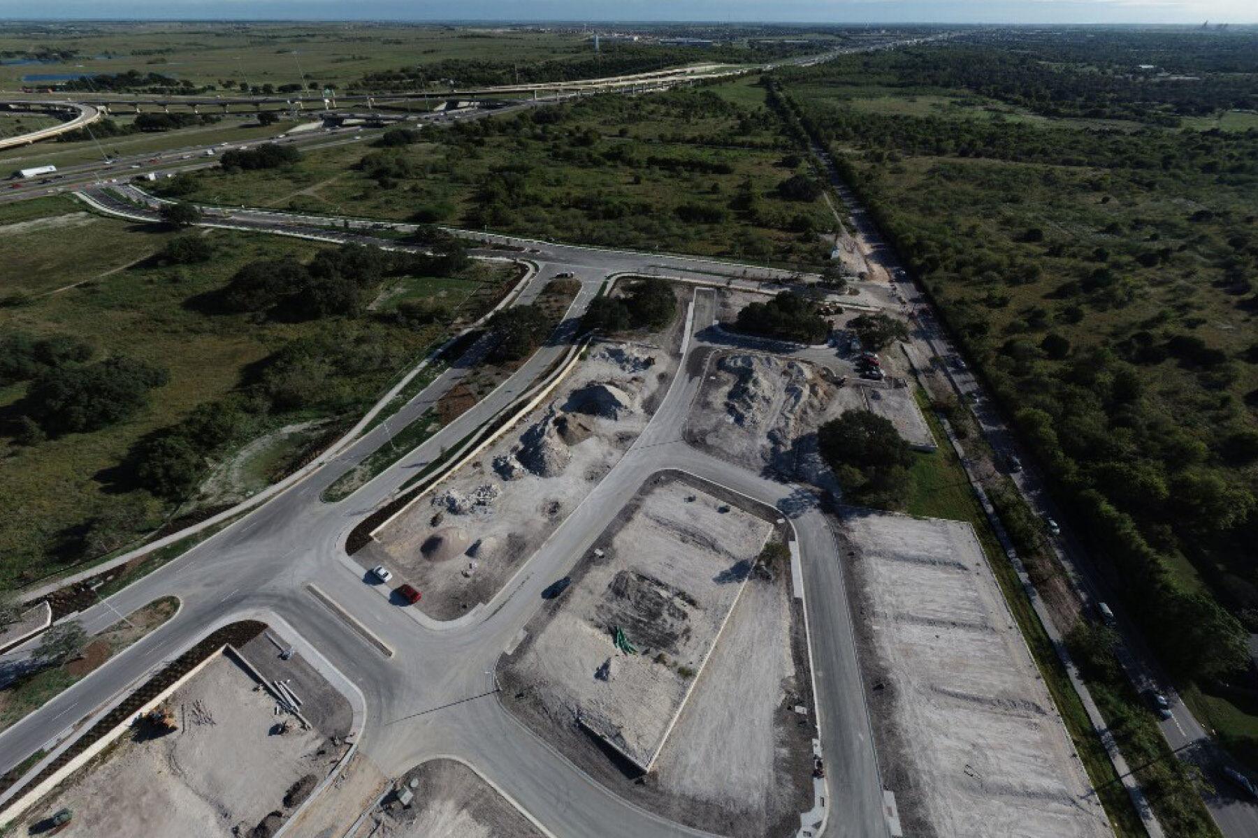 Hills at Estancia Aerial