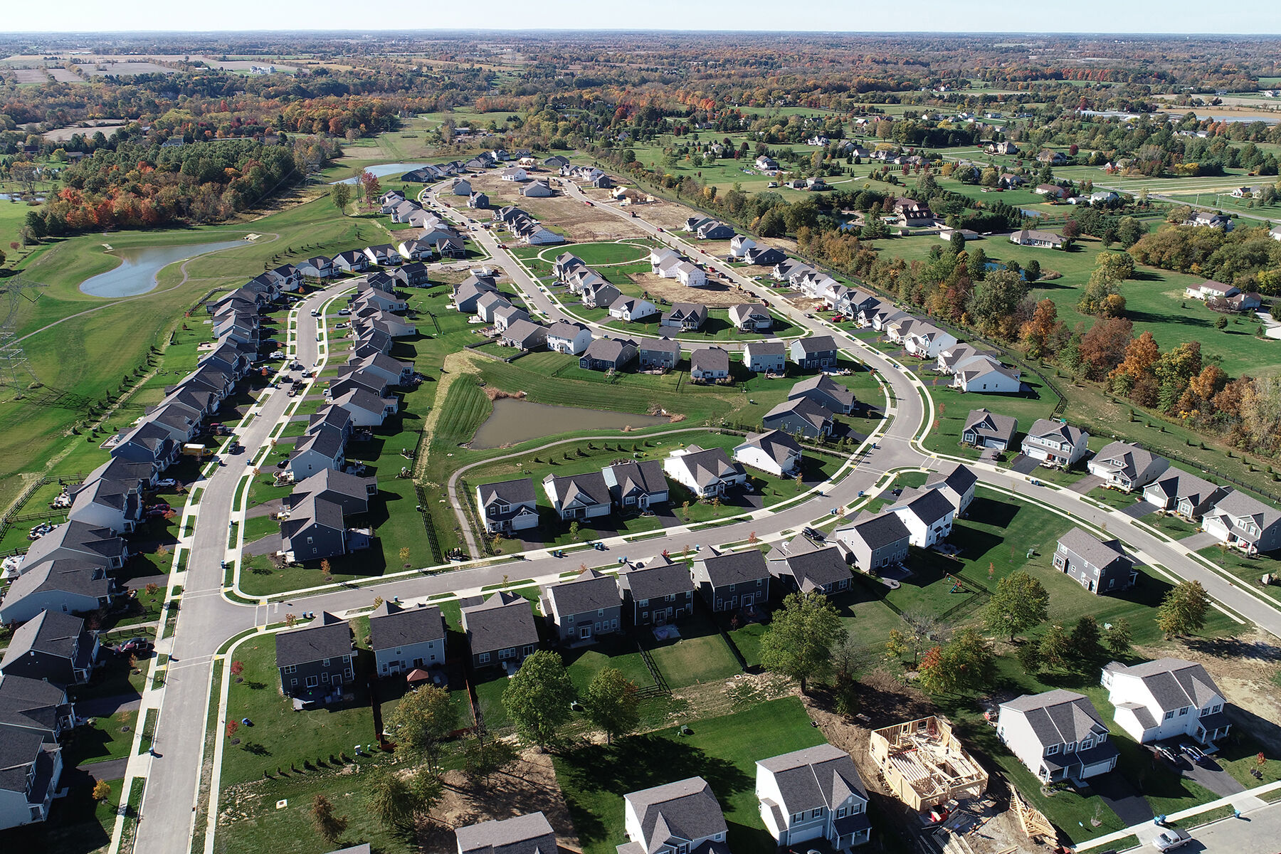 Clarkshaw Meadows Aerial