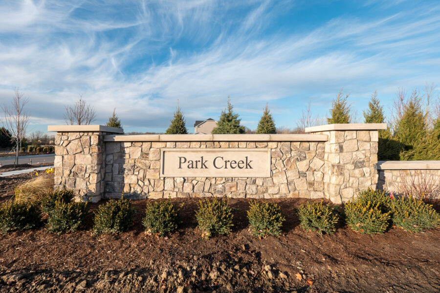 Park Creek Entrance