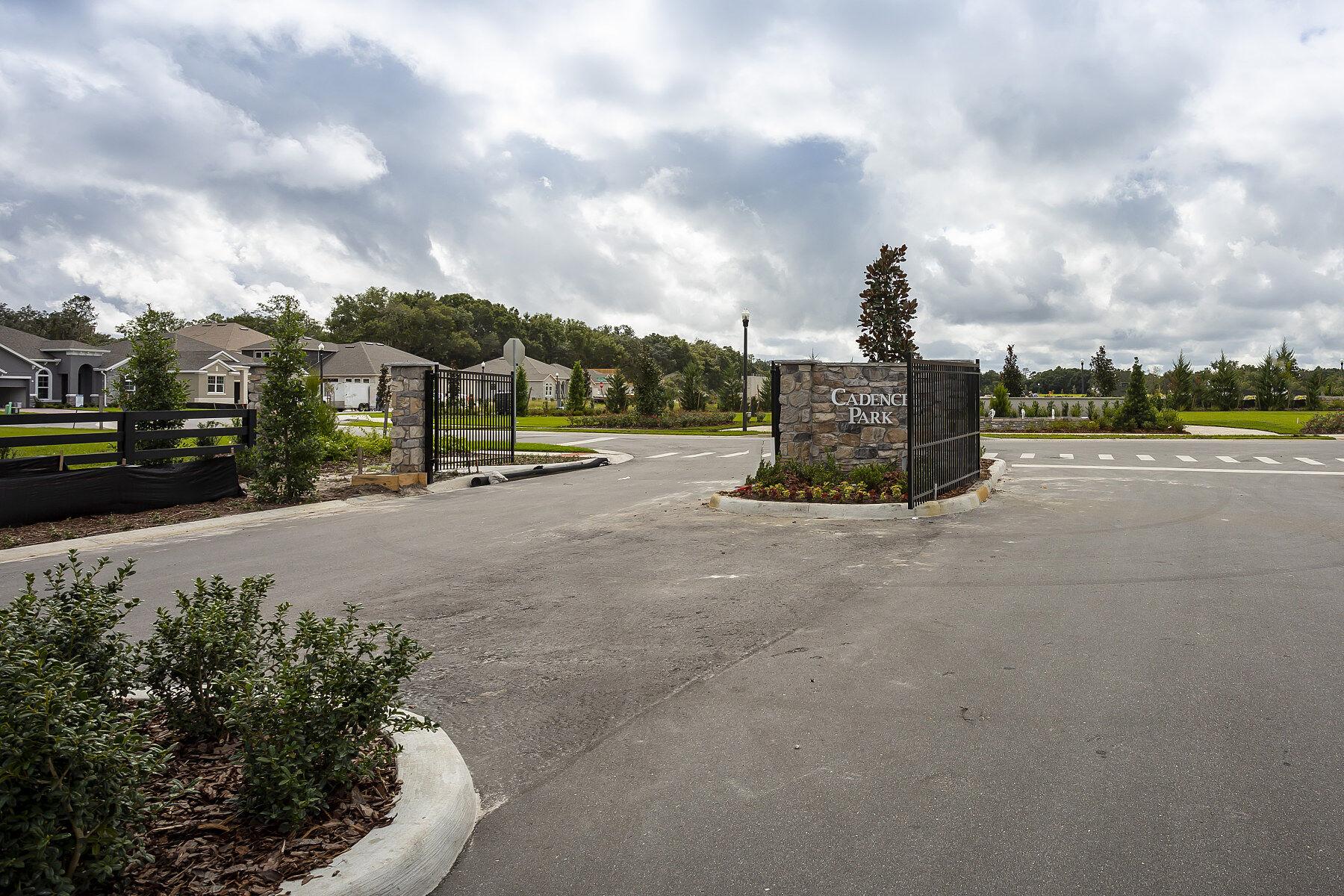Cadence Park Entrance