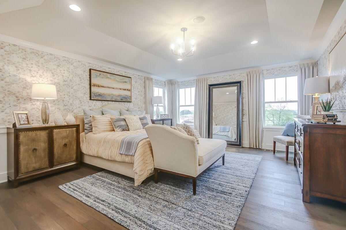 The Townes of Westbury Owner's Bedroom