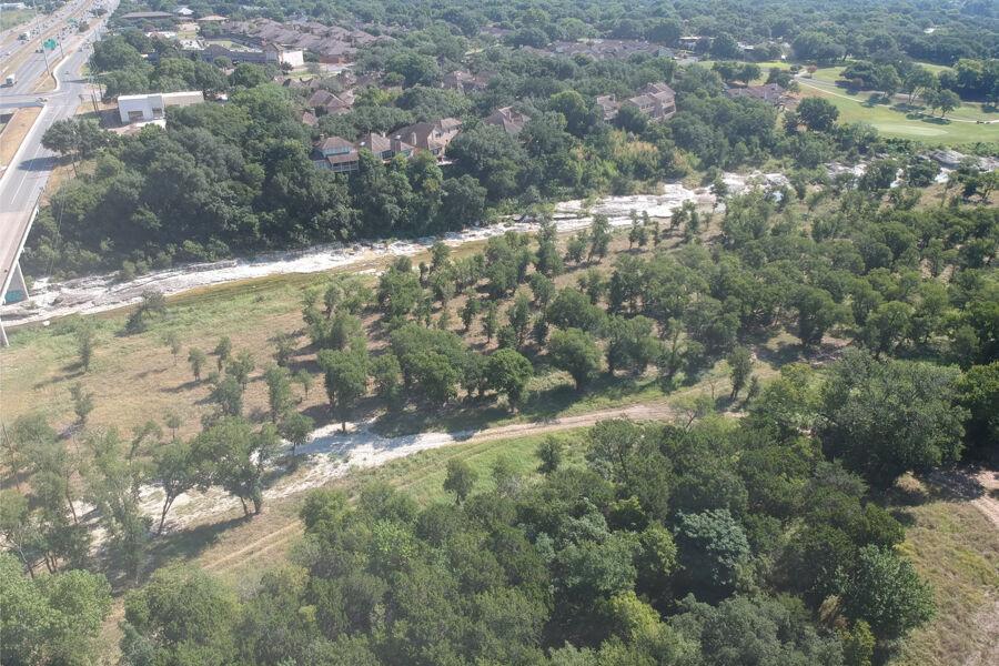 Cascades at Onion Creek Aerial