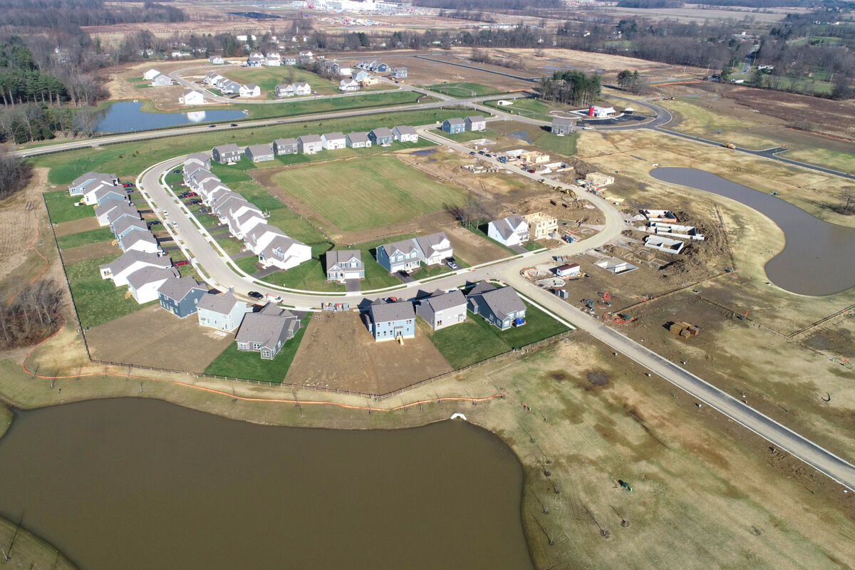 Farms at Jefferson Aerial