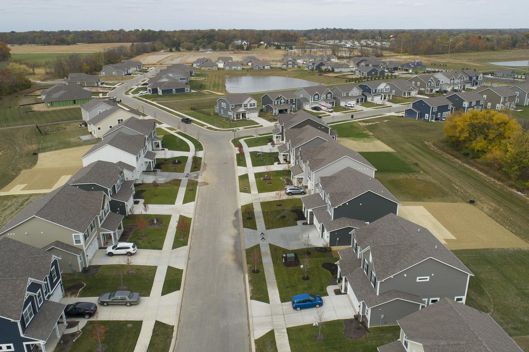 Scofield Farms Aerial