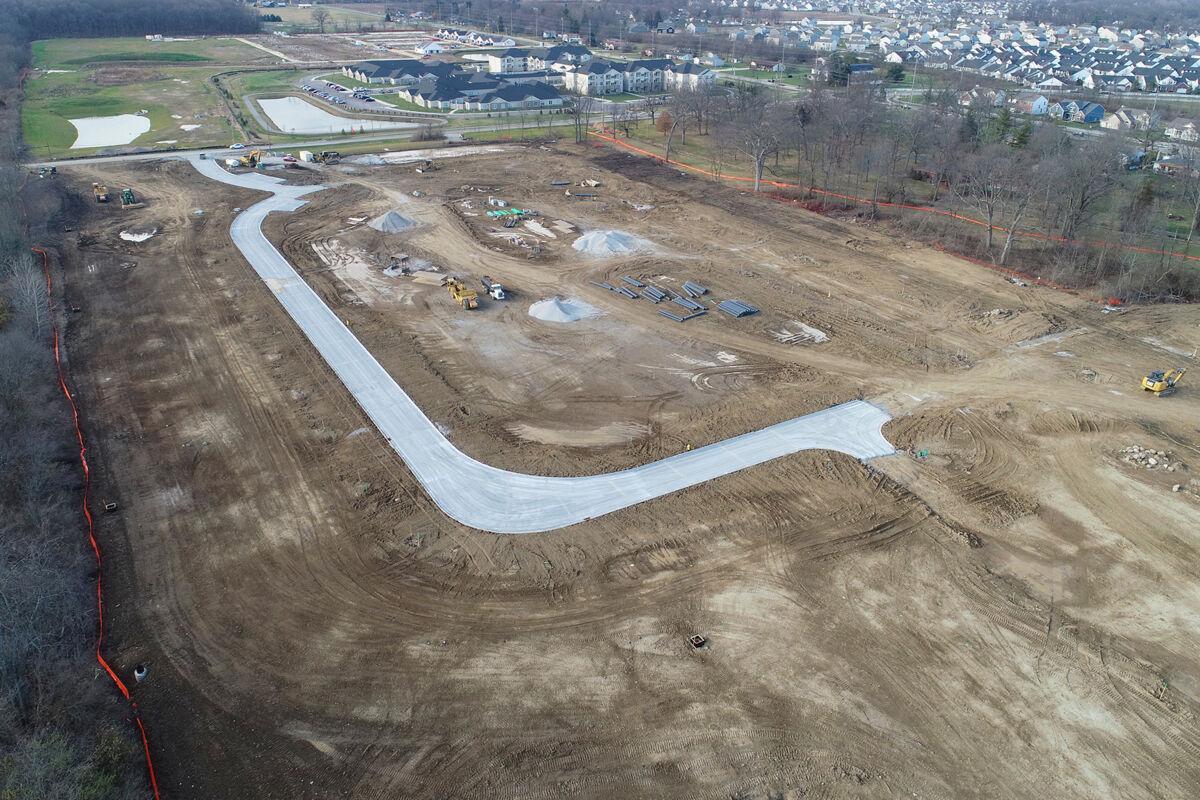Brown's Farm Aerial