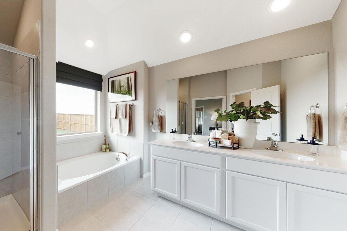 Interior Owner's Bathroom