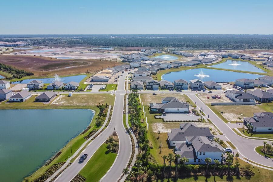 Promenade Estates Aerial