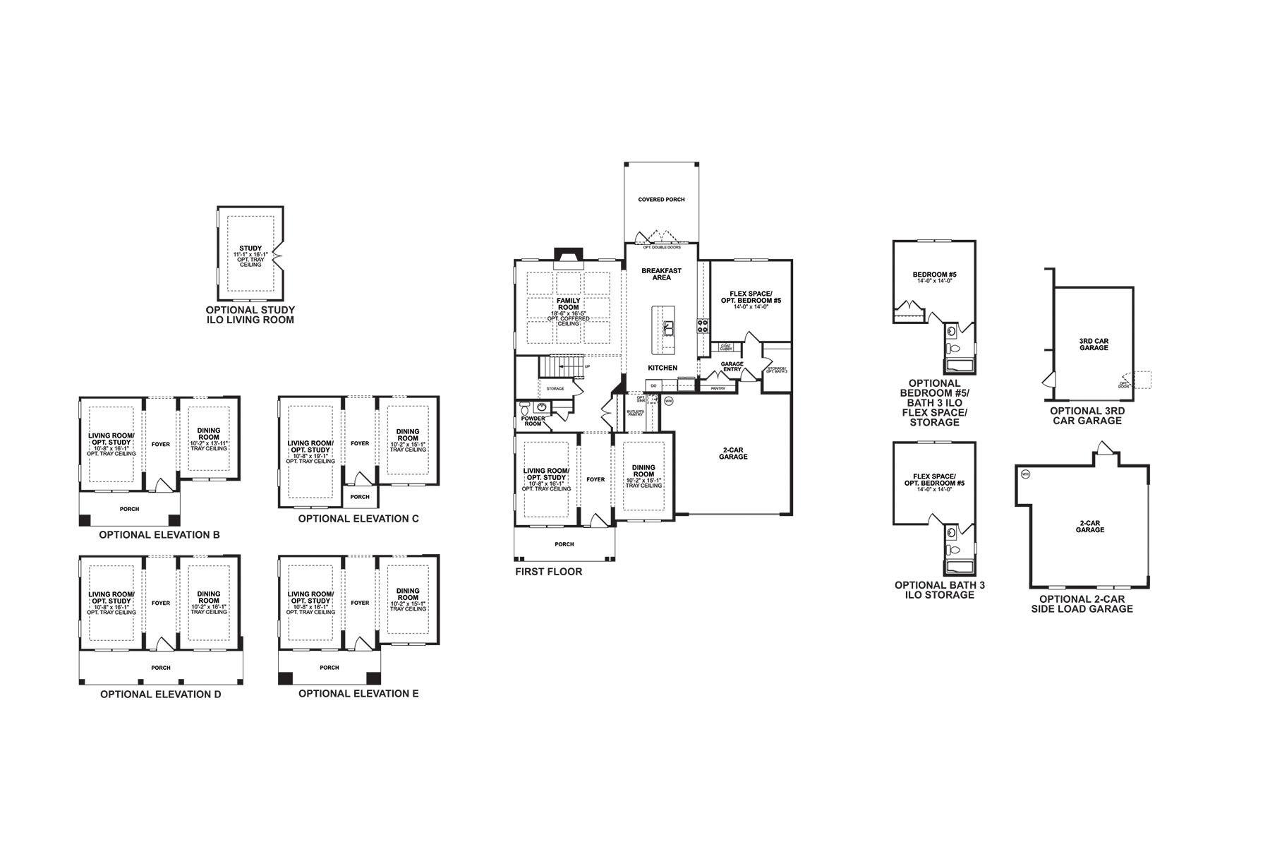 Brooksby II First Floor
