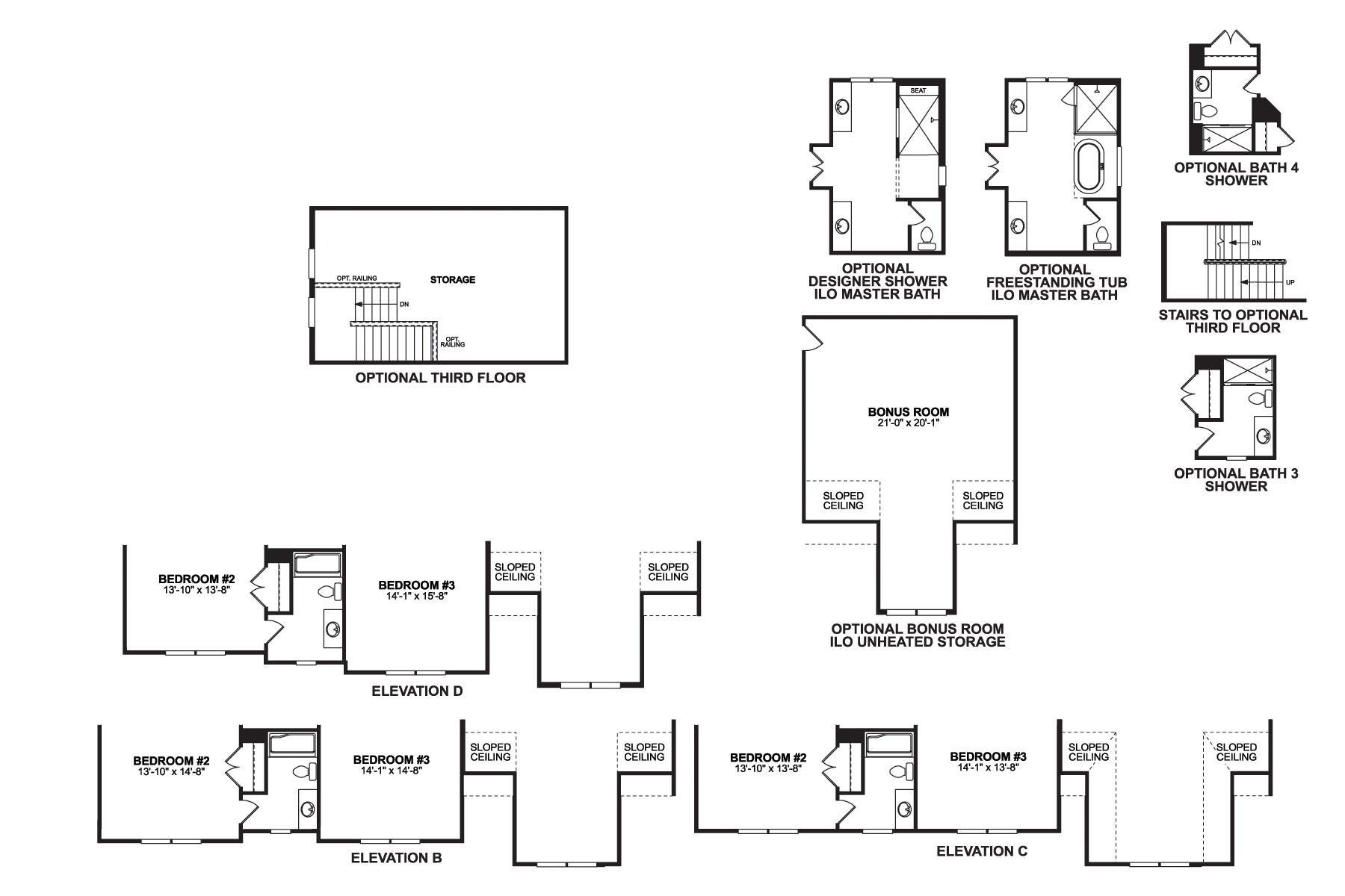Biltmore Second Floor Options