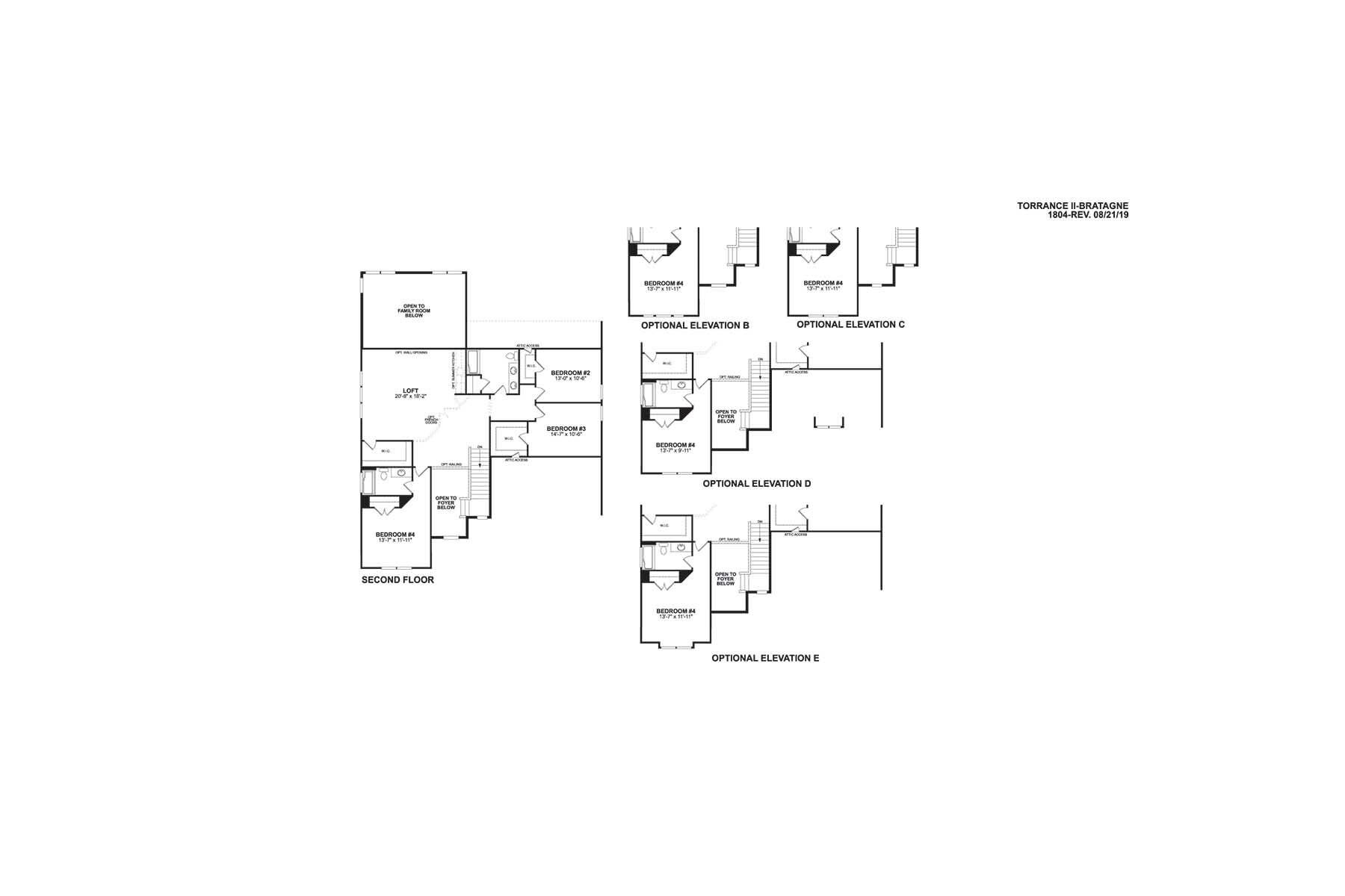 Torrance II Second Floor