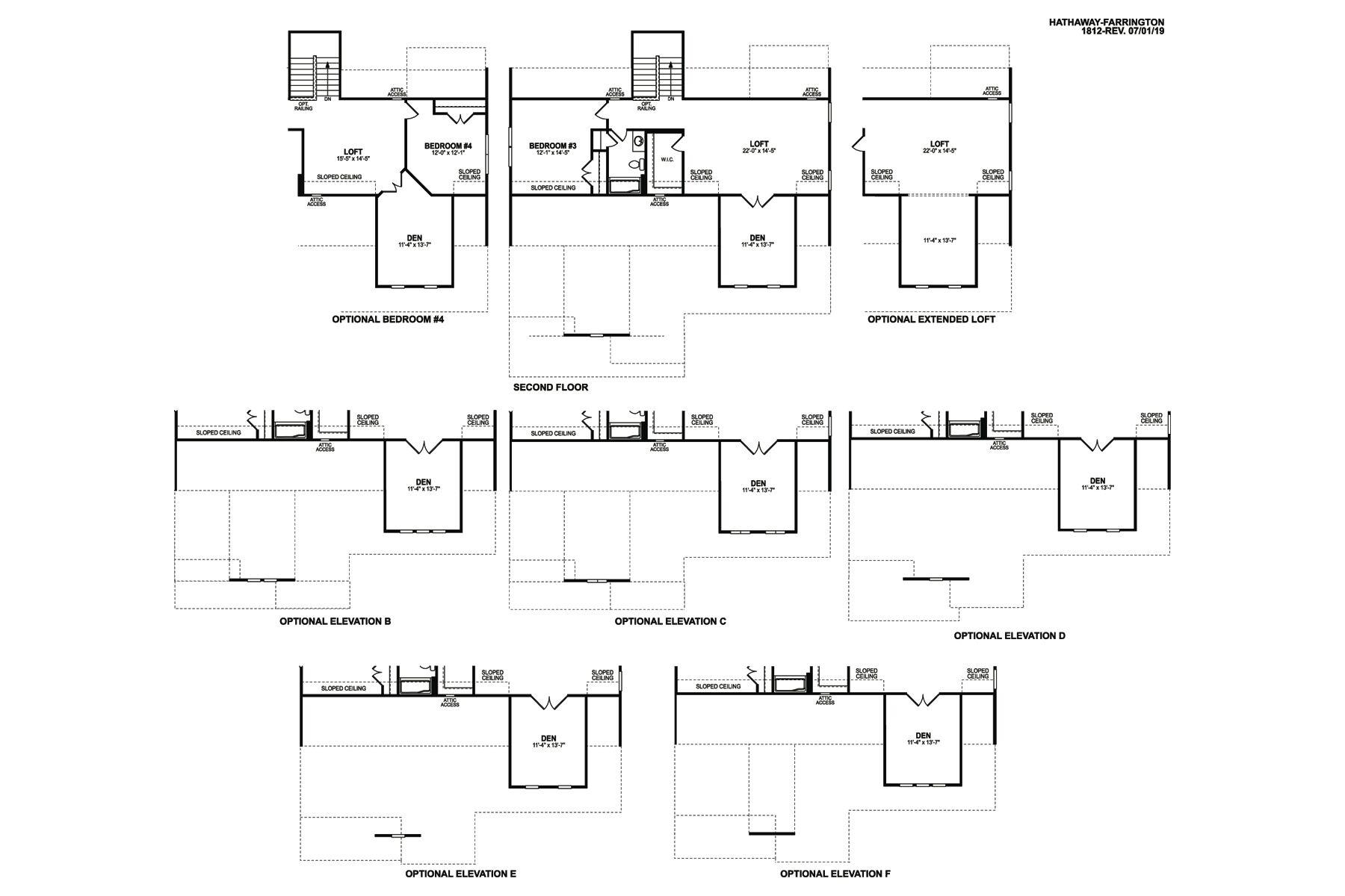 Hathaway Floorplan