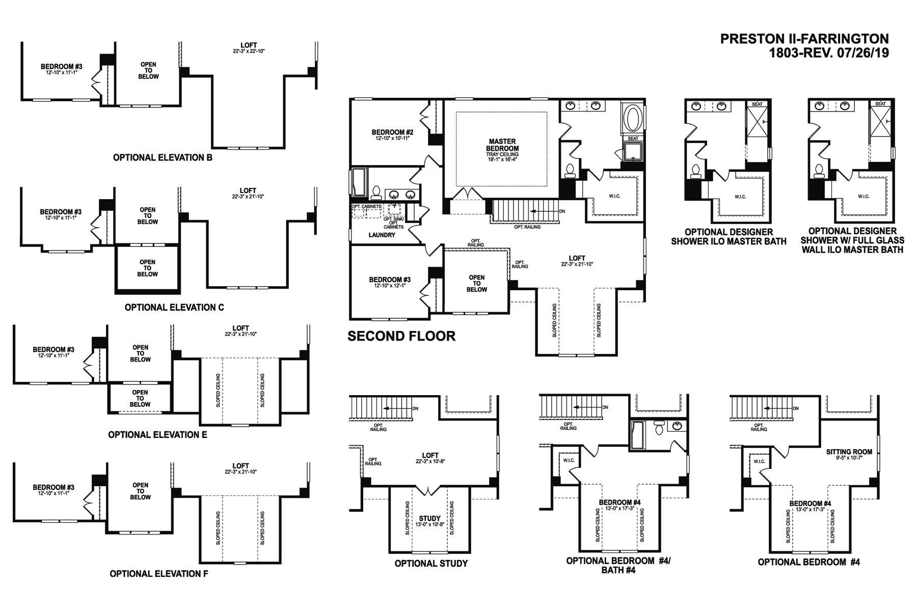 Preston II Floorplan