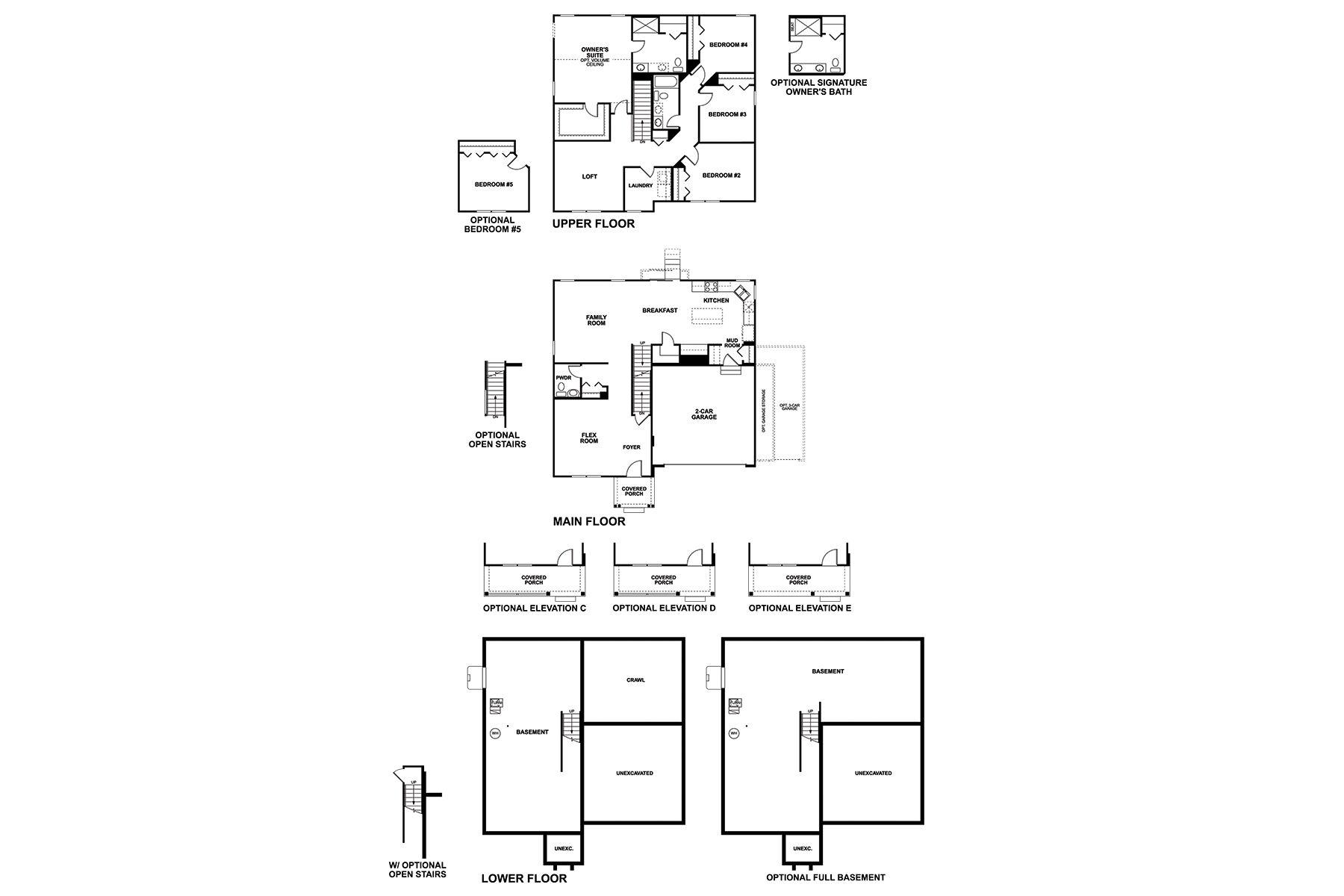 Seneca Floorplan