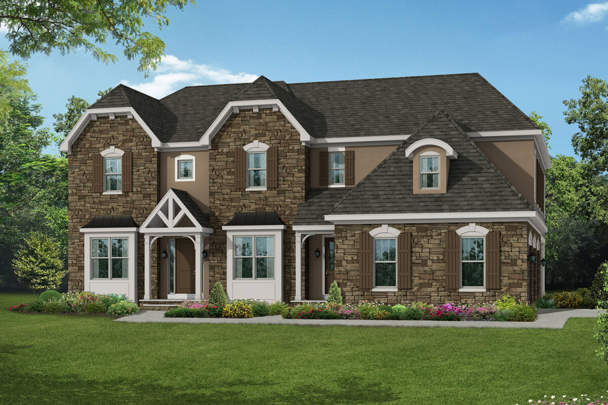 Kingston French Country Elevation