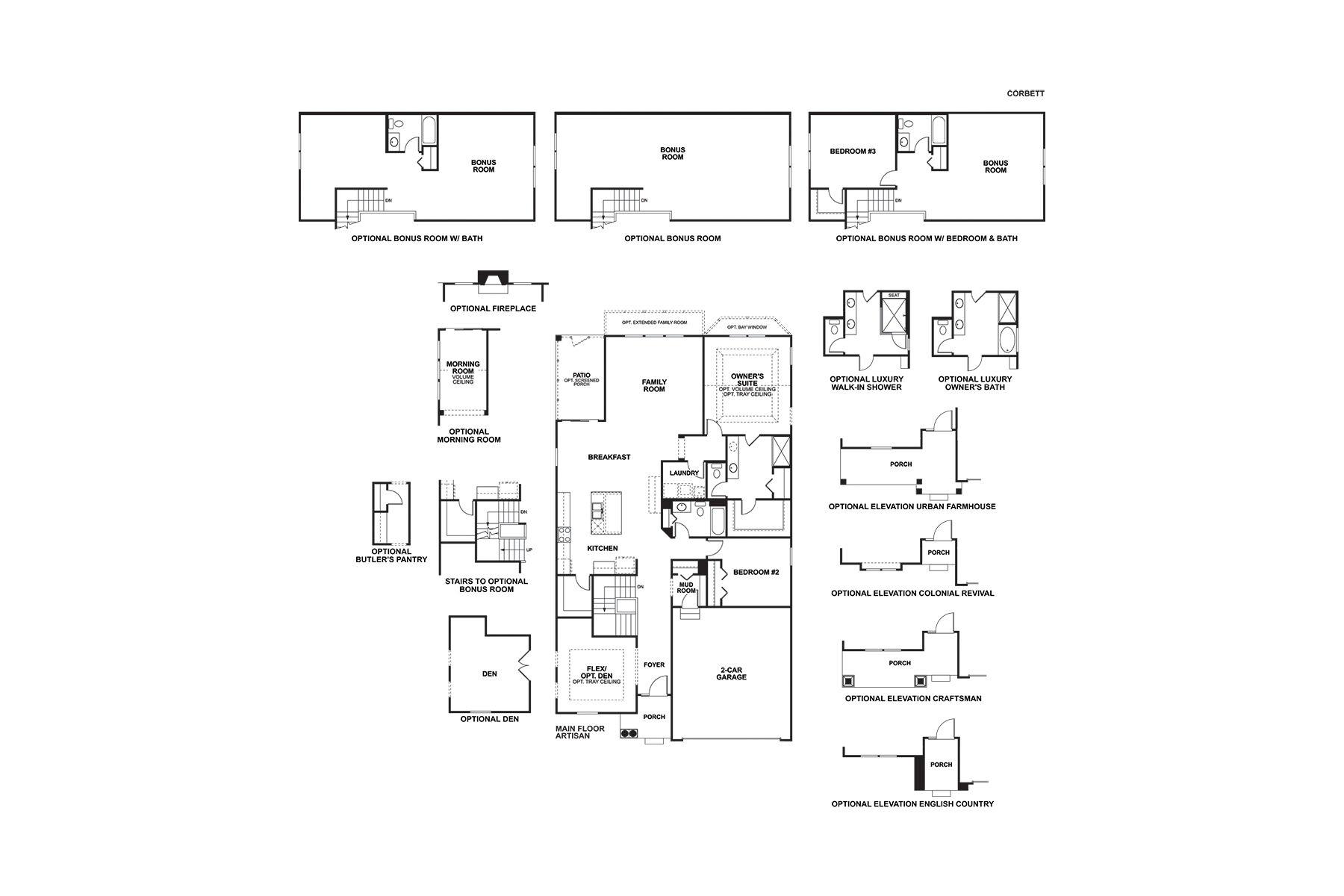 Corbett First Floor