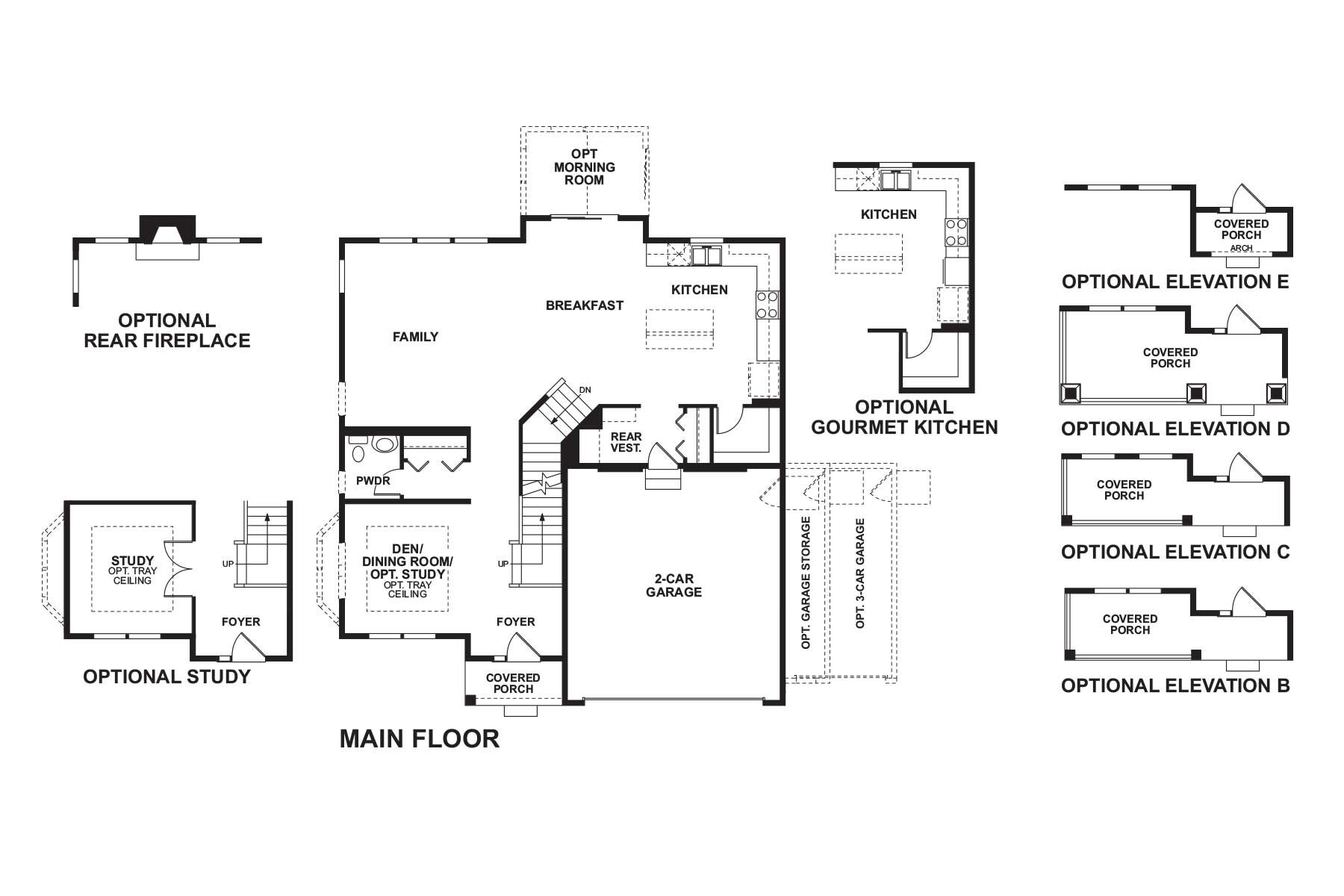 Dunbar First Floor