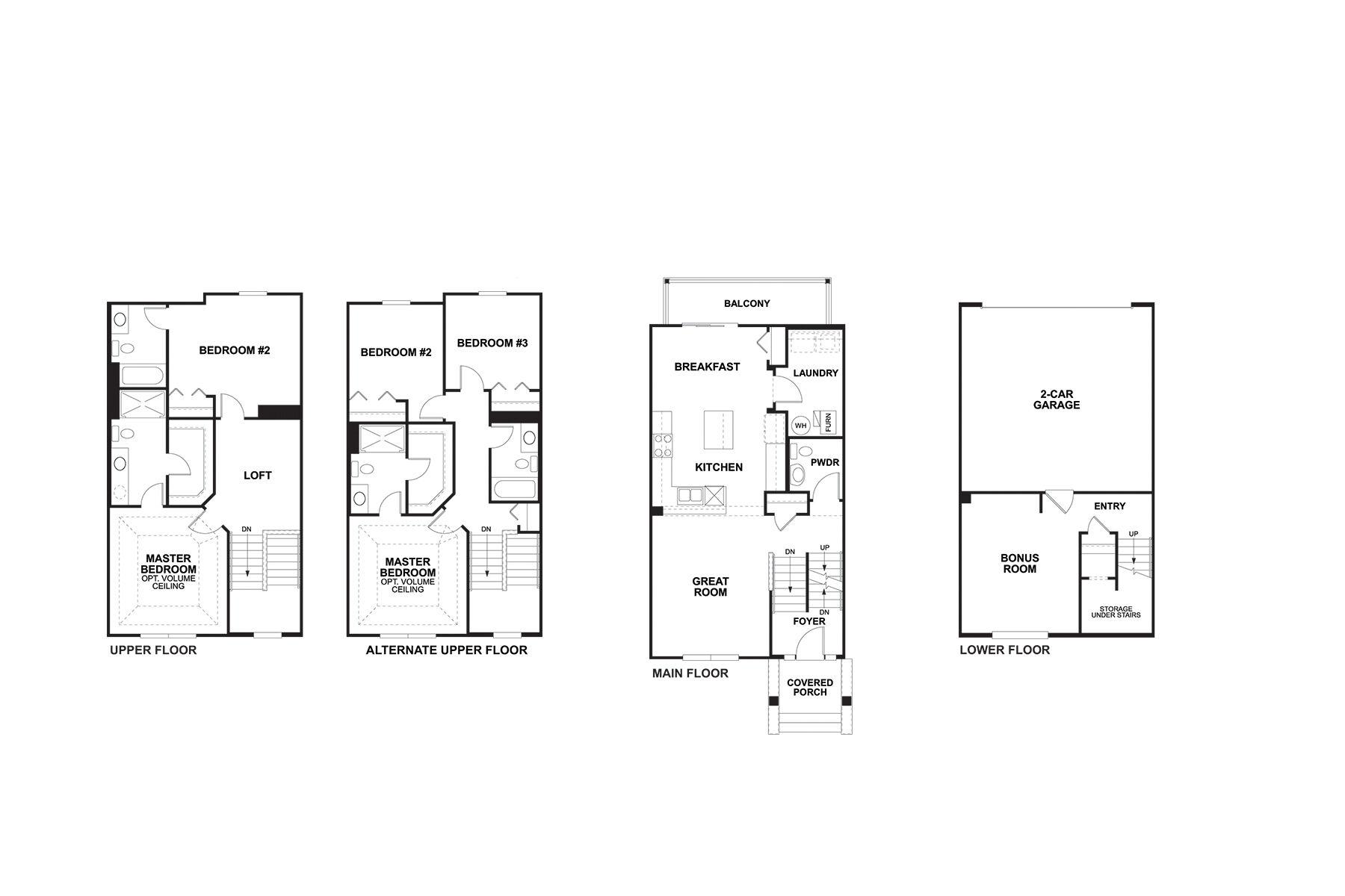 Belmont Floorplan