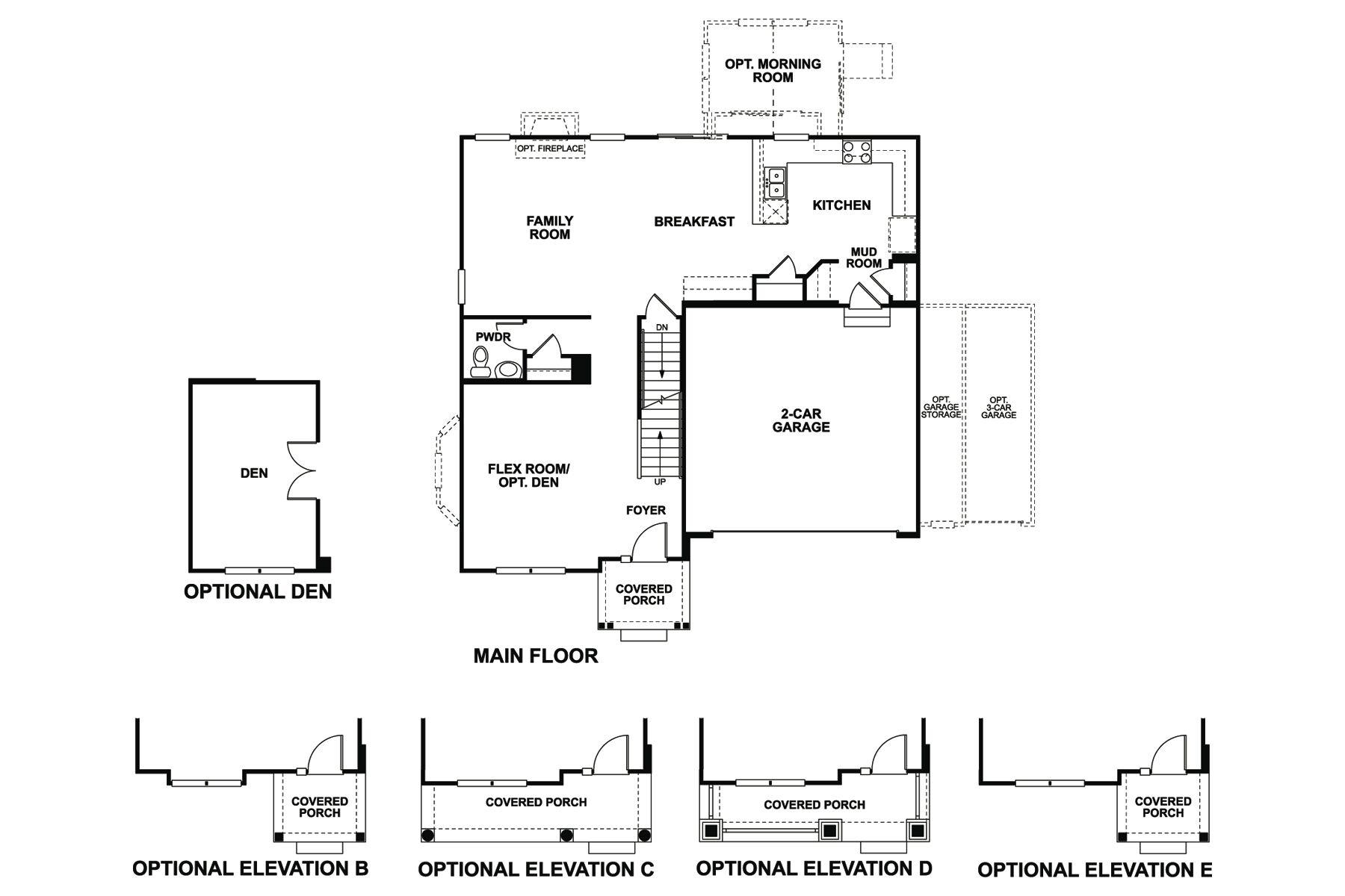 Corliss Floorplan