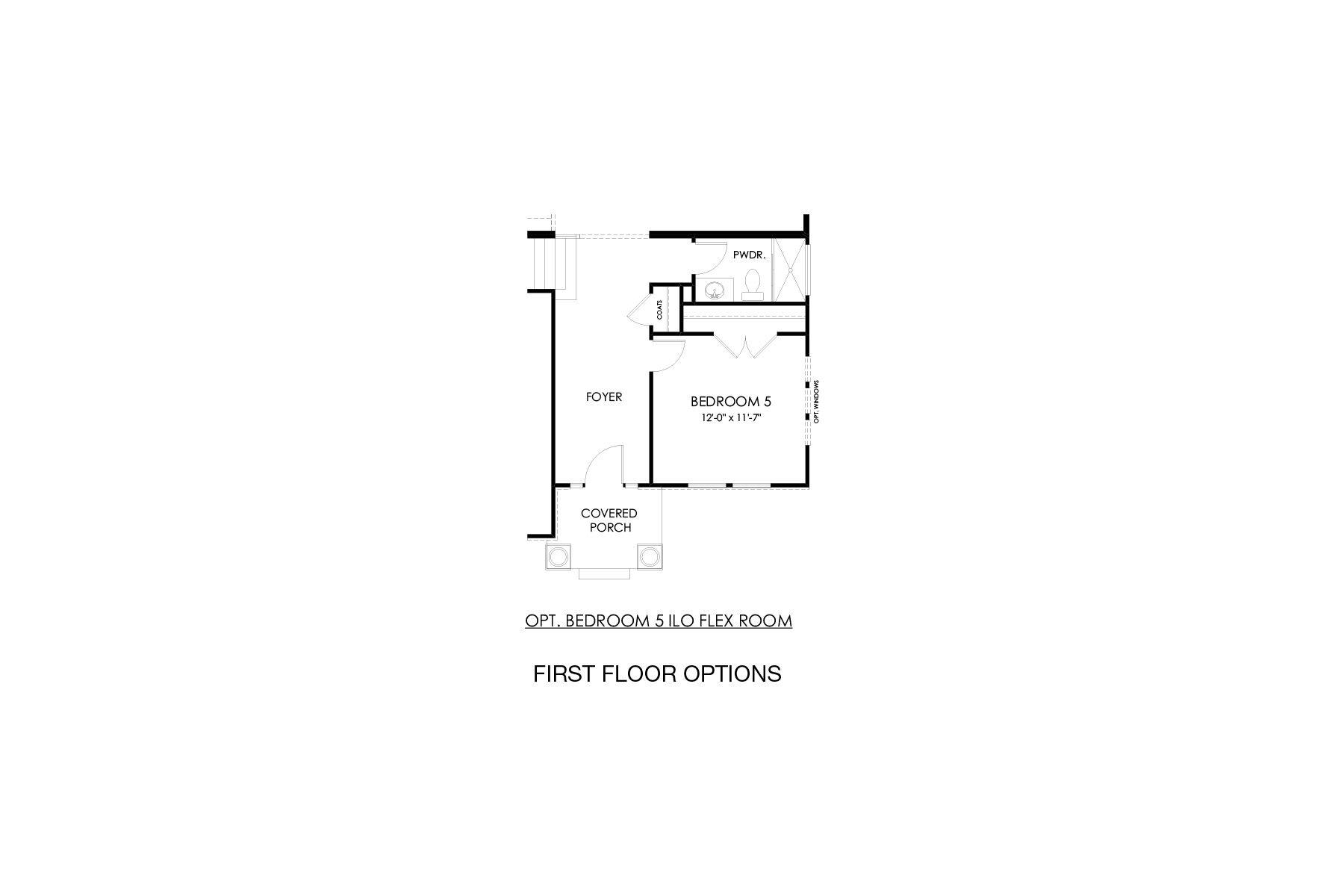Stanley First Floor Options