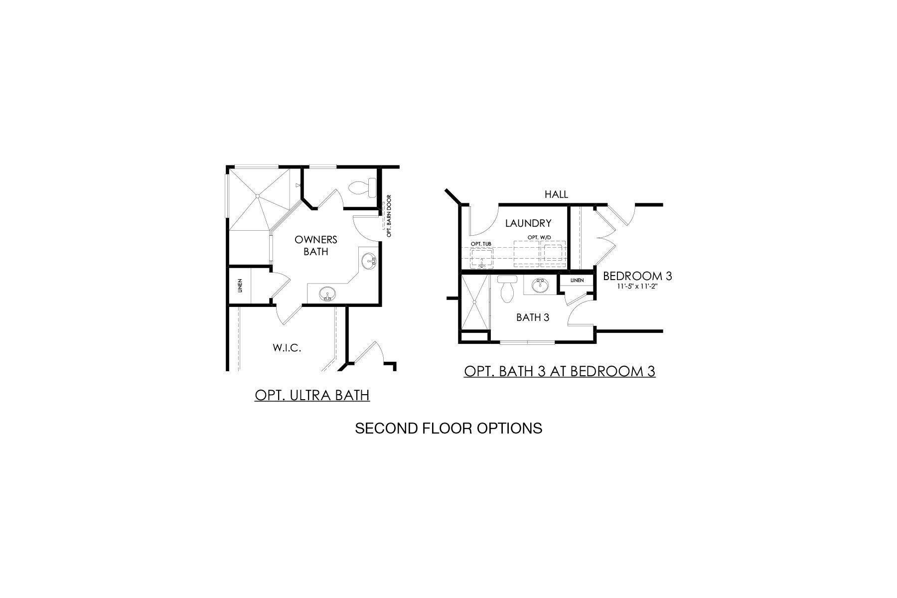 Stanley Second Floor Options