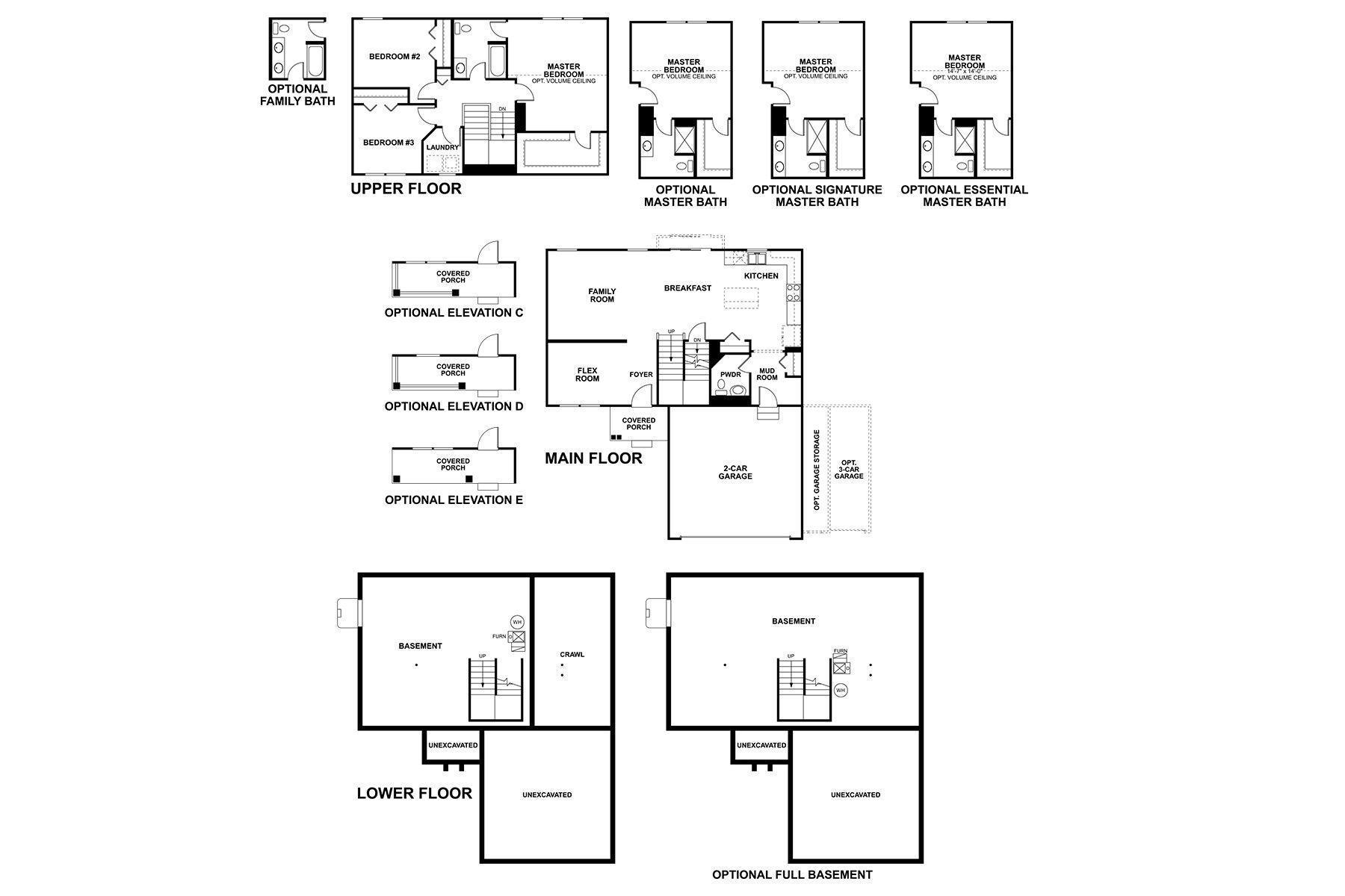 Leyden Floorplan