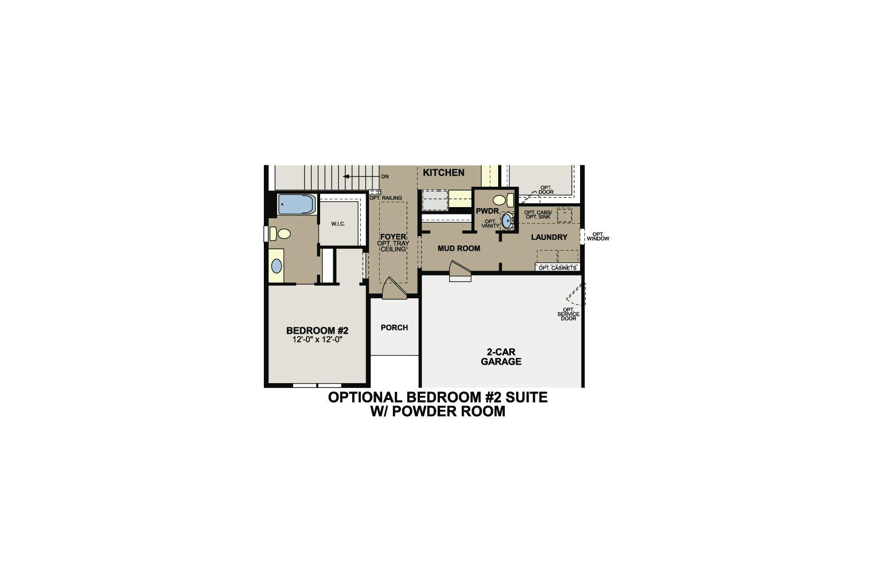 Mitchell Floorplan