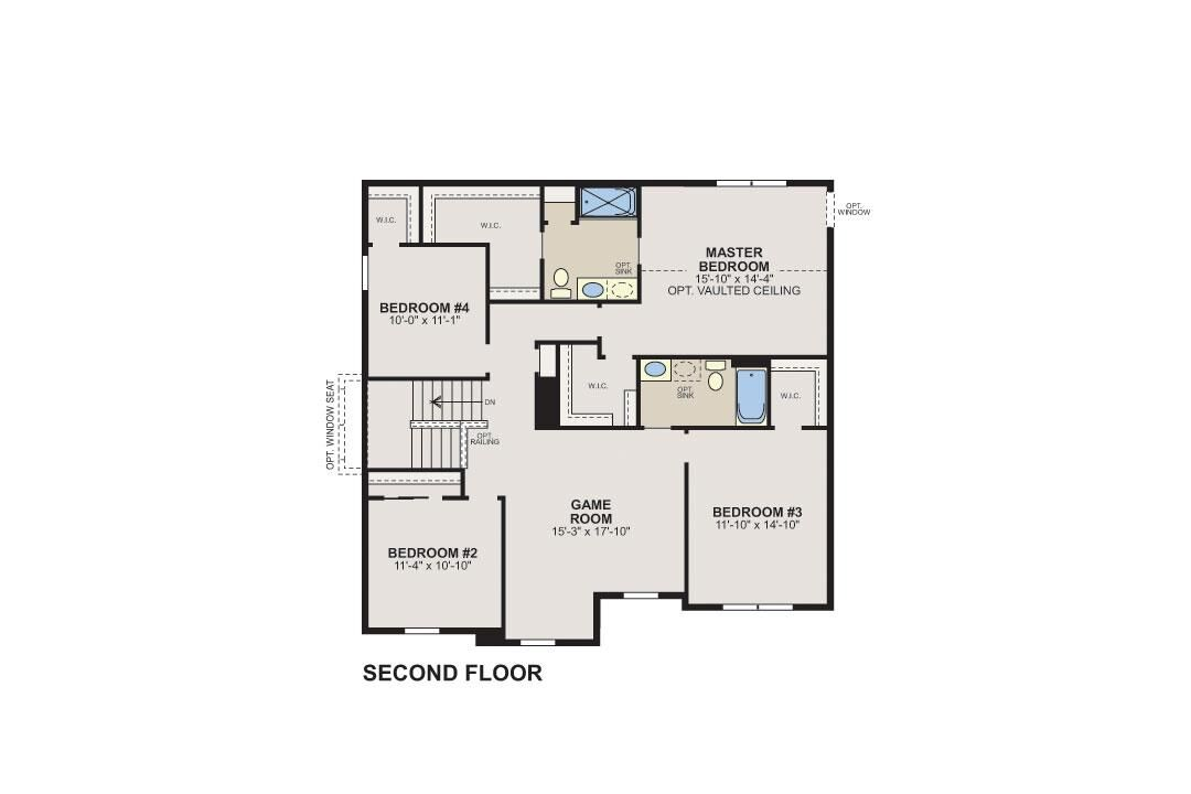 Sorrel Classic Second Floor