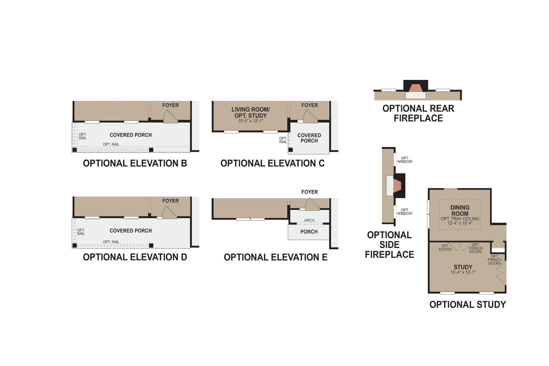 Morrison First Floor Options