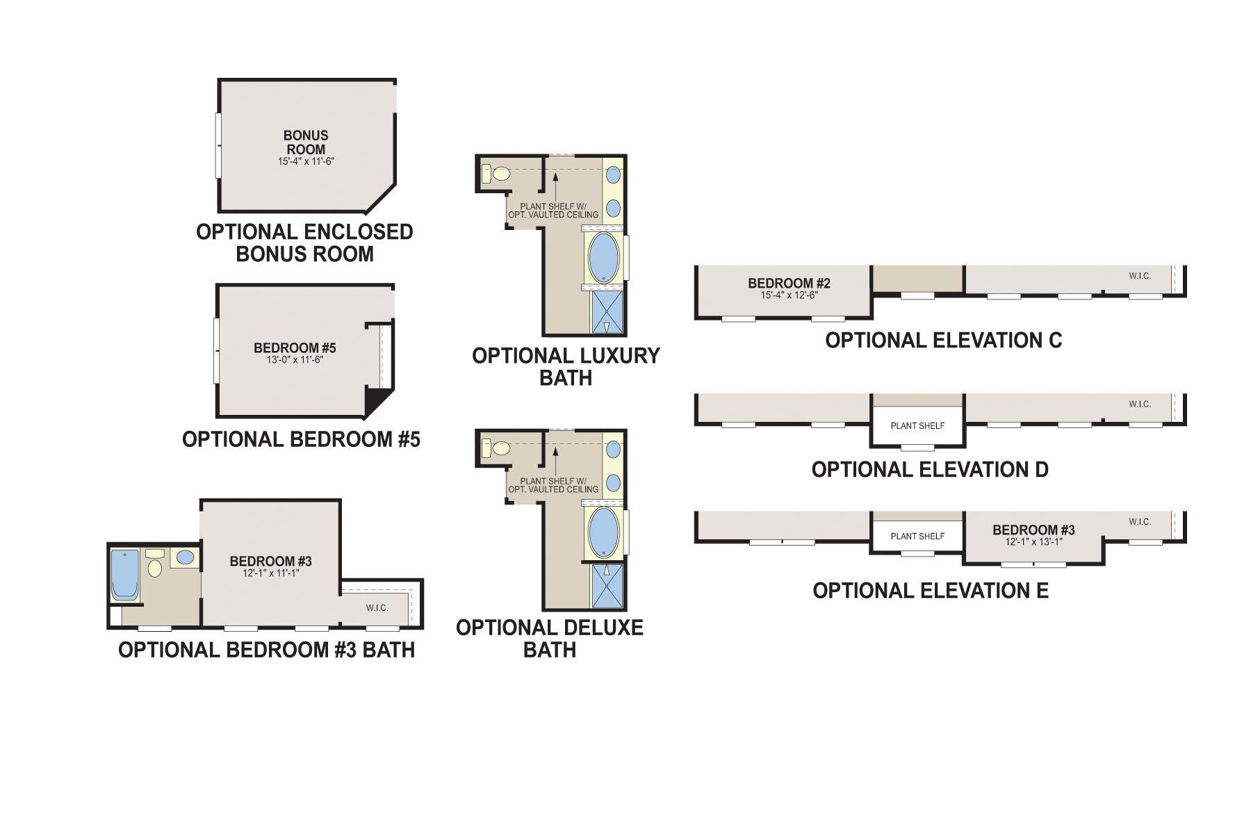 Morrison Second Floor Options