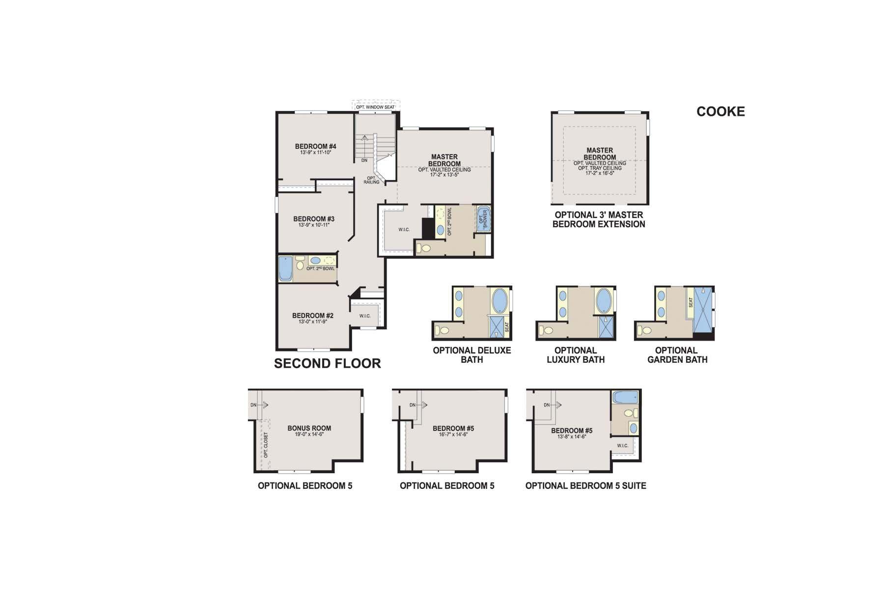 Cooke Second Floor