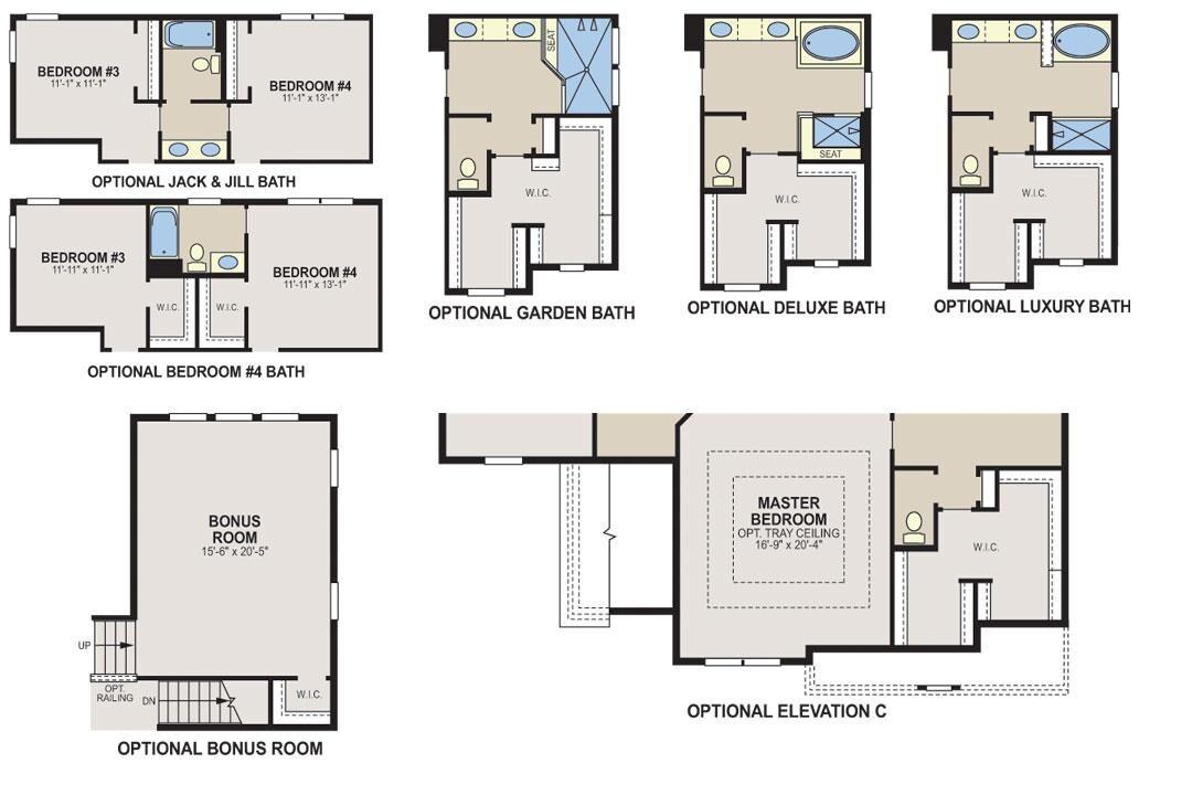 Keating Floorplan Options