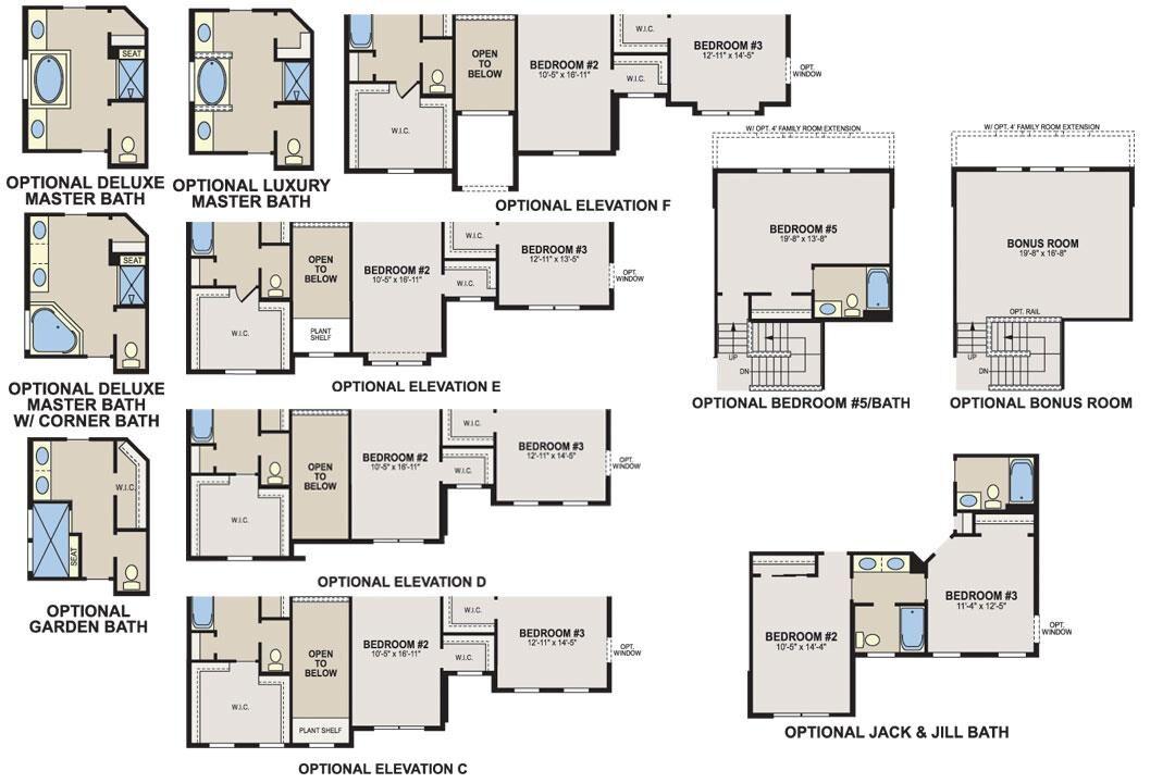Ainsley II Floorplan Options