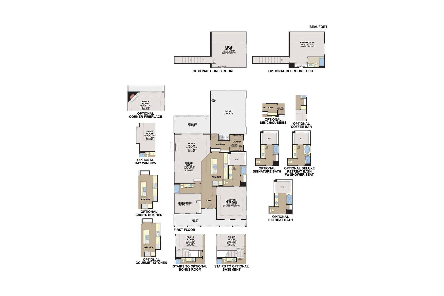 Beaufort First Floor