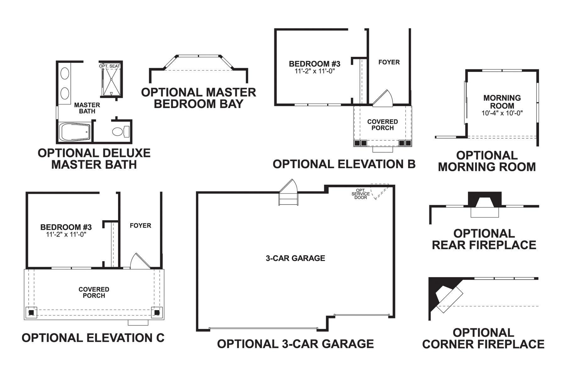 Riverside First Floor Options
