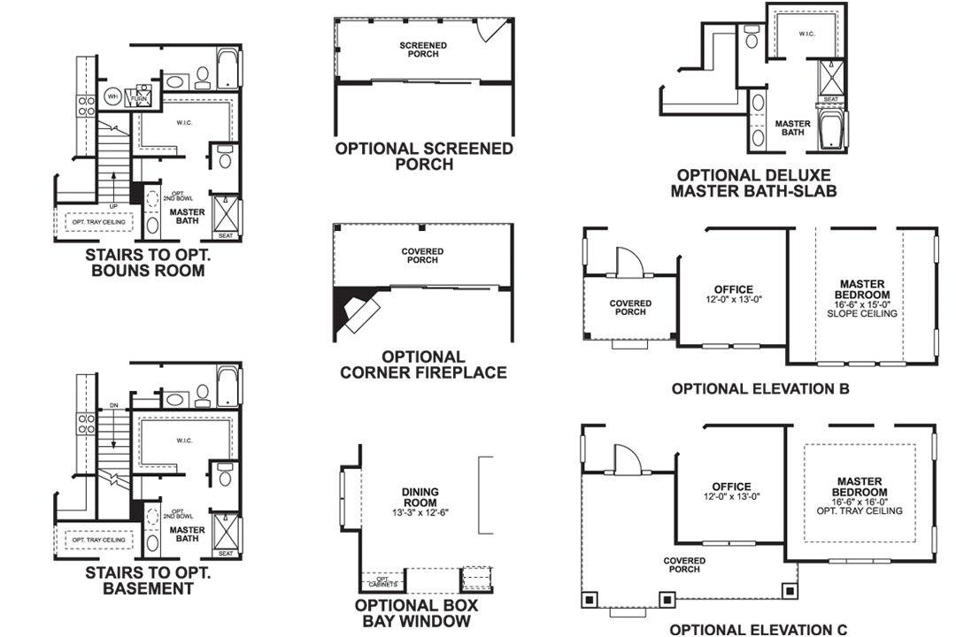 Durham First Floor Options