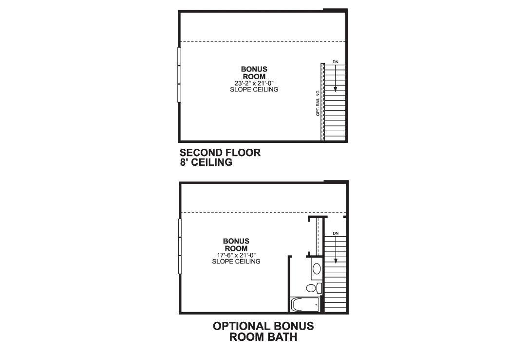Durham Second Floor Options