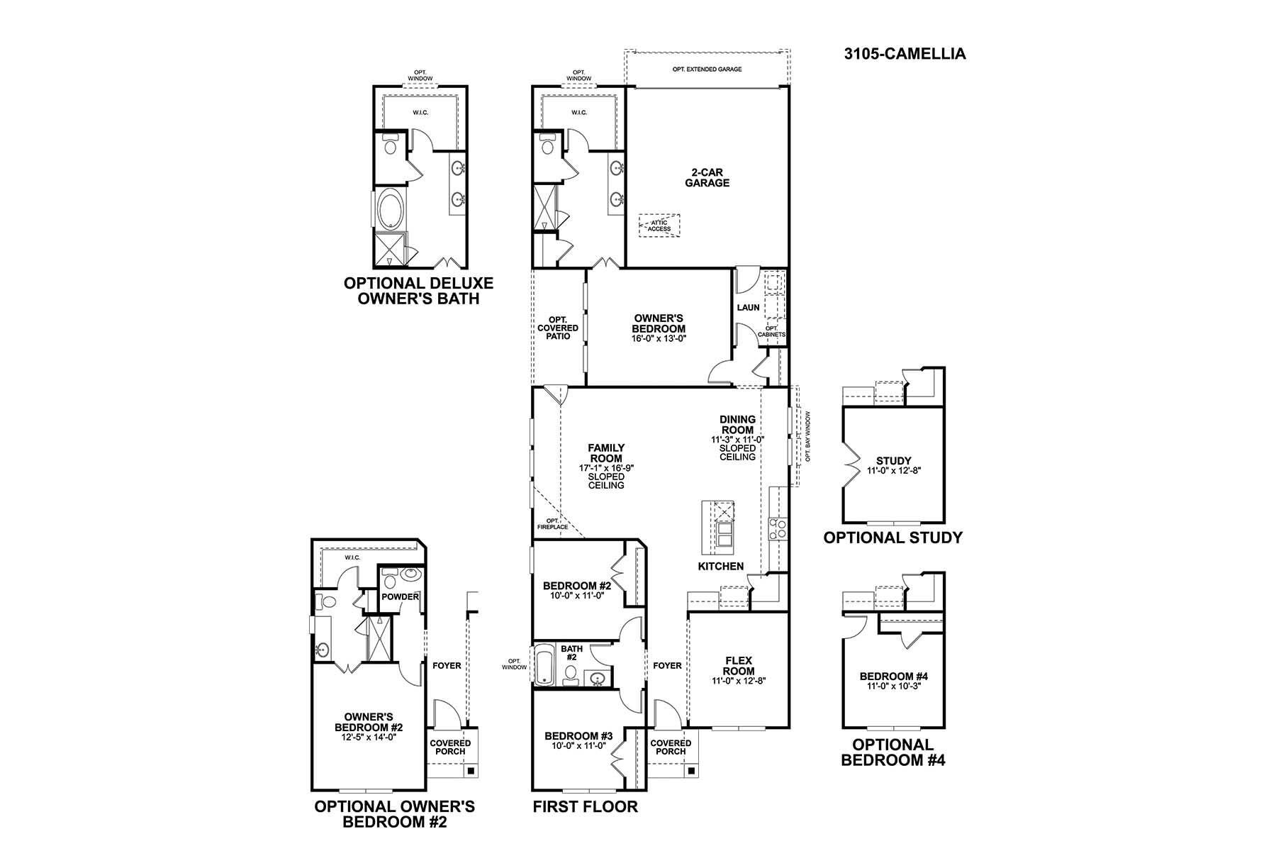 Camellia Floorplan