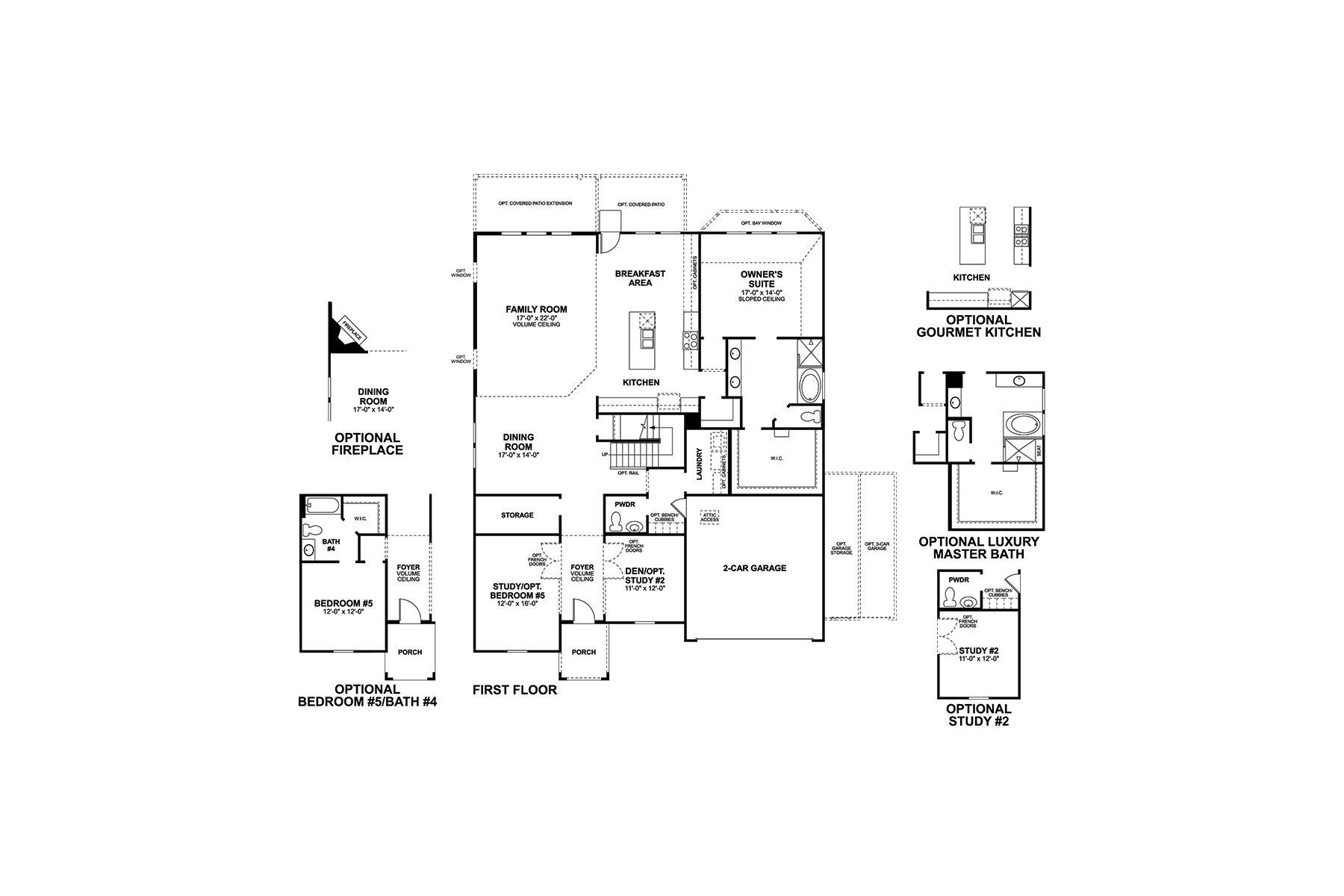 Dickinson First Floor
