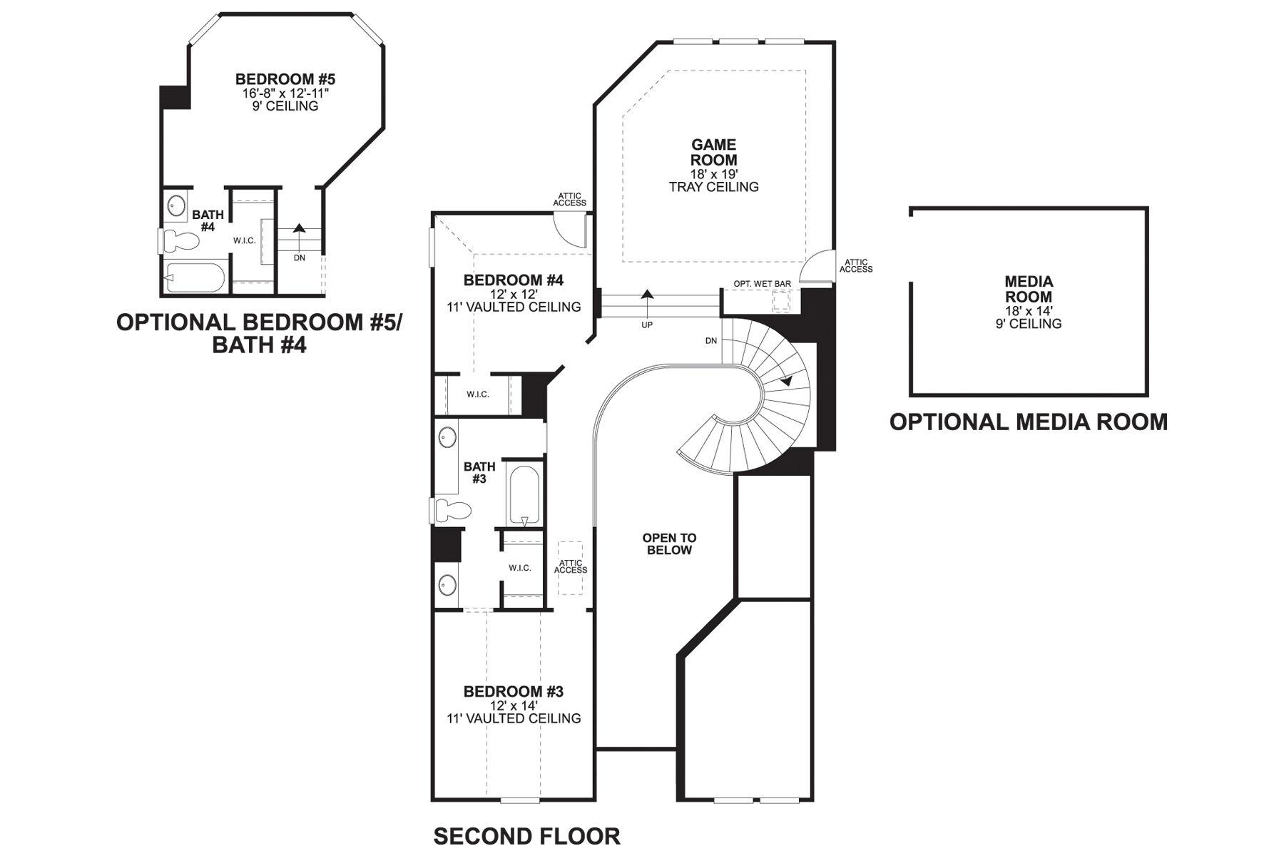 5408 Bellaire SL Second Floor